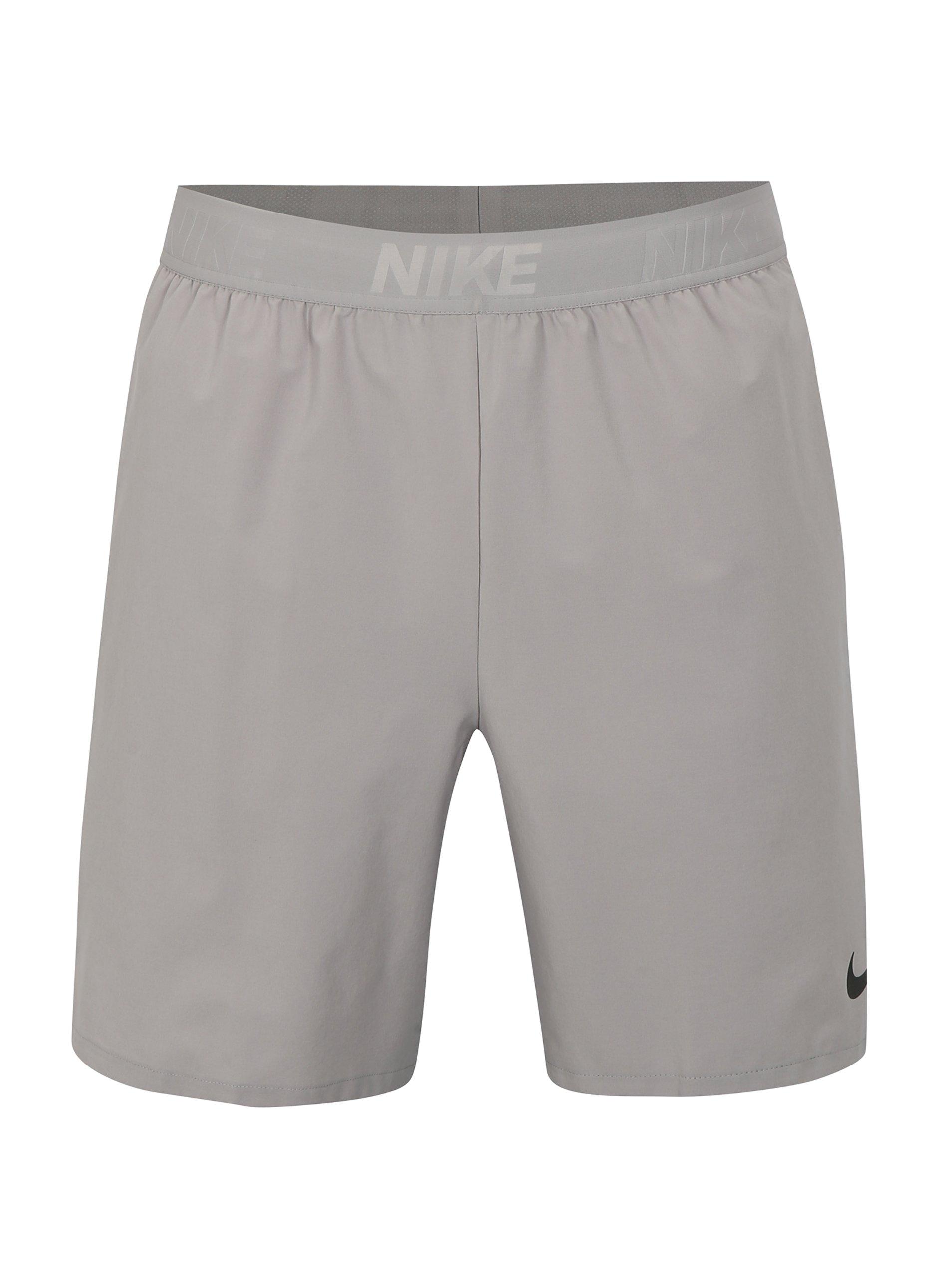 d301e558d223 Sivé pánske standart fit kraťasy Nike Vent Max 2.0