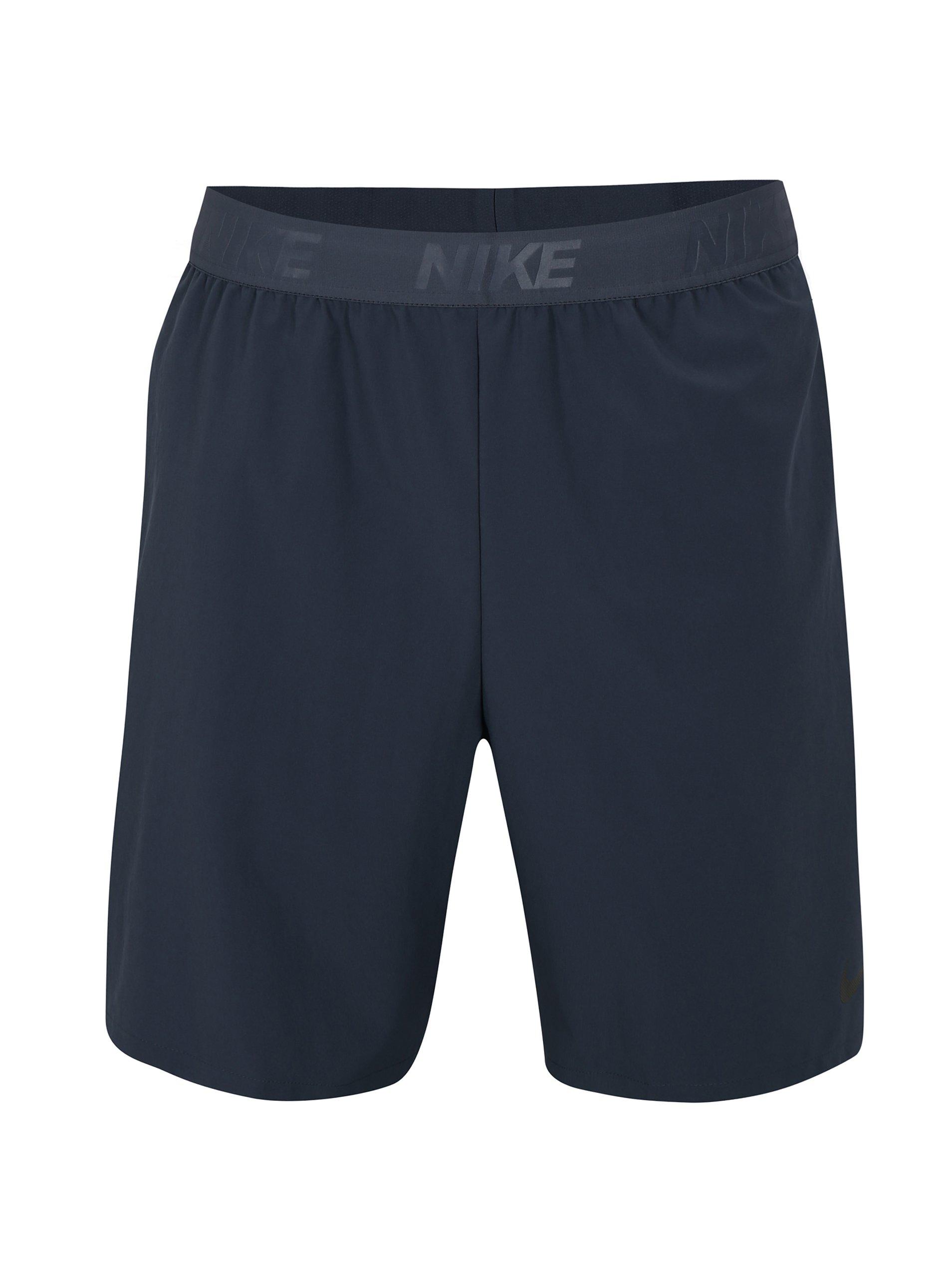 Tmavě modré pánské standart fit kraťasy Nike Vent Max 2.0
