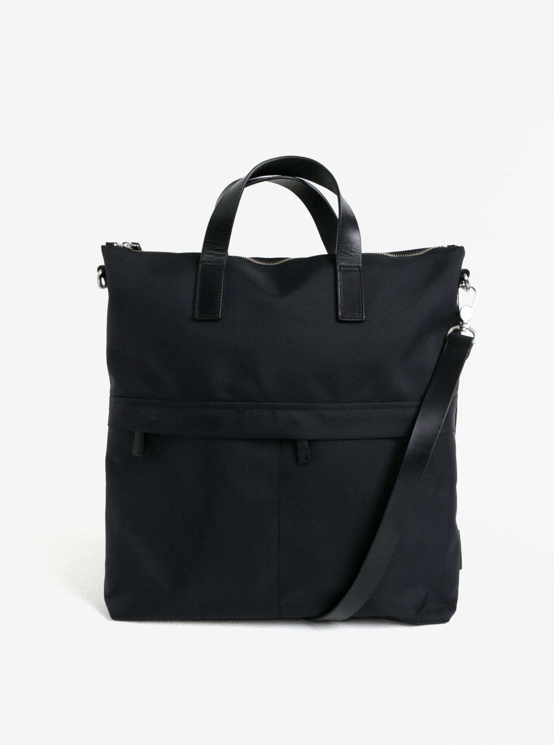Černá dámská taška na notebook Vagabond Oslo