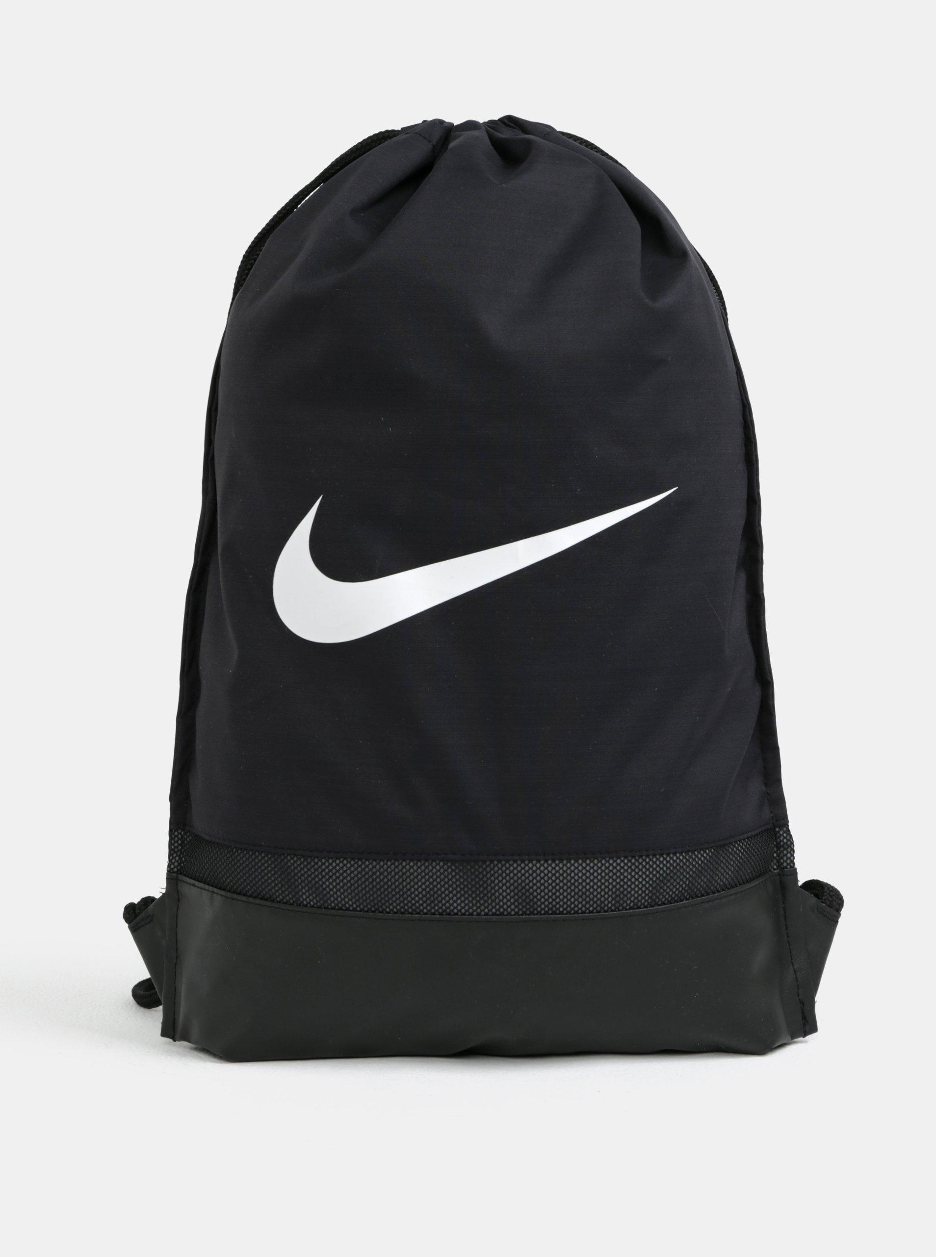 Černý voděodolný vak Nike Brasilia