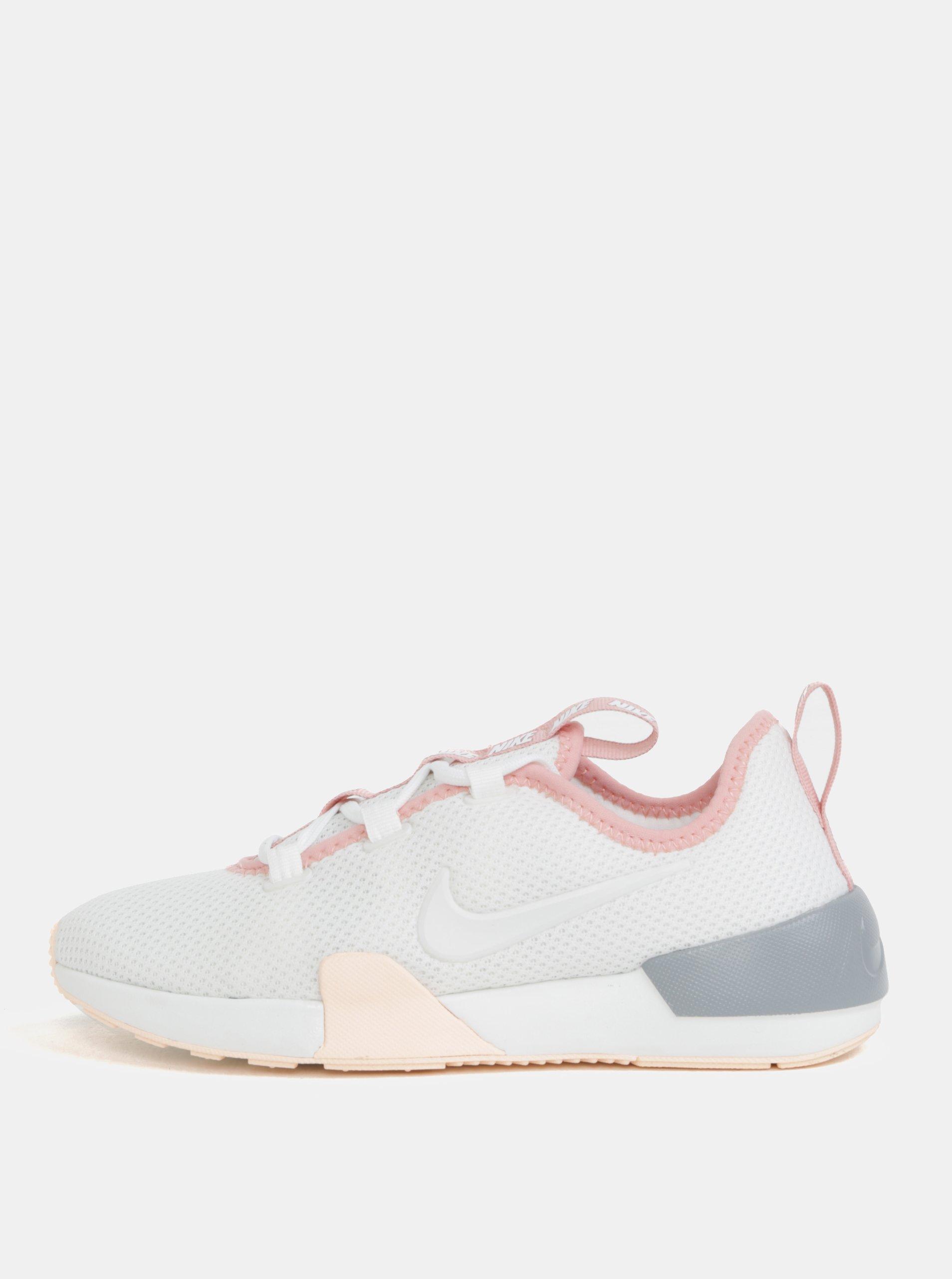 191ef6ae597 Růžovo-bílé dámské tenisky Nike Ashin Modern