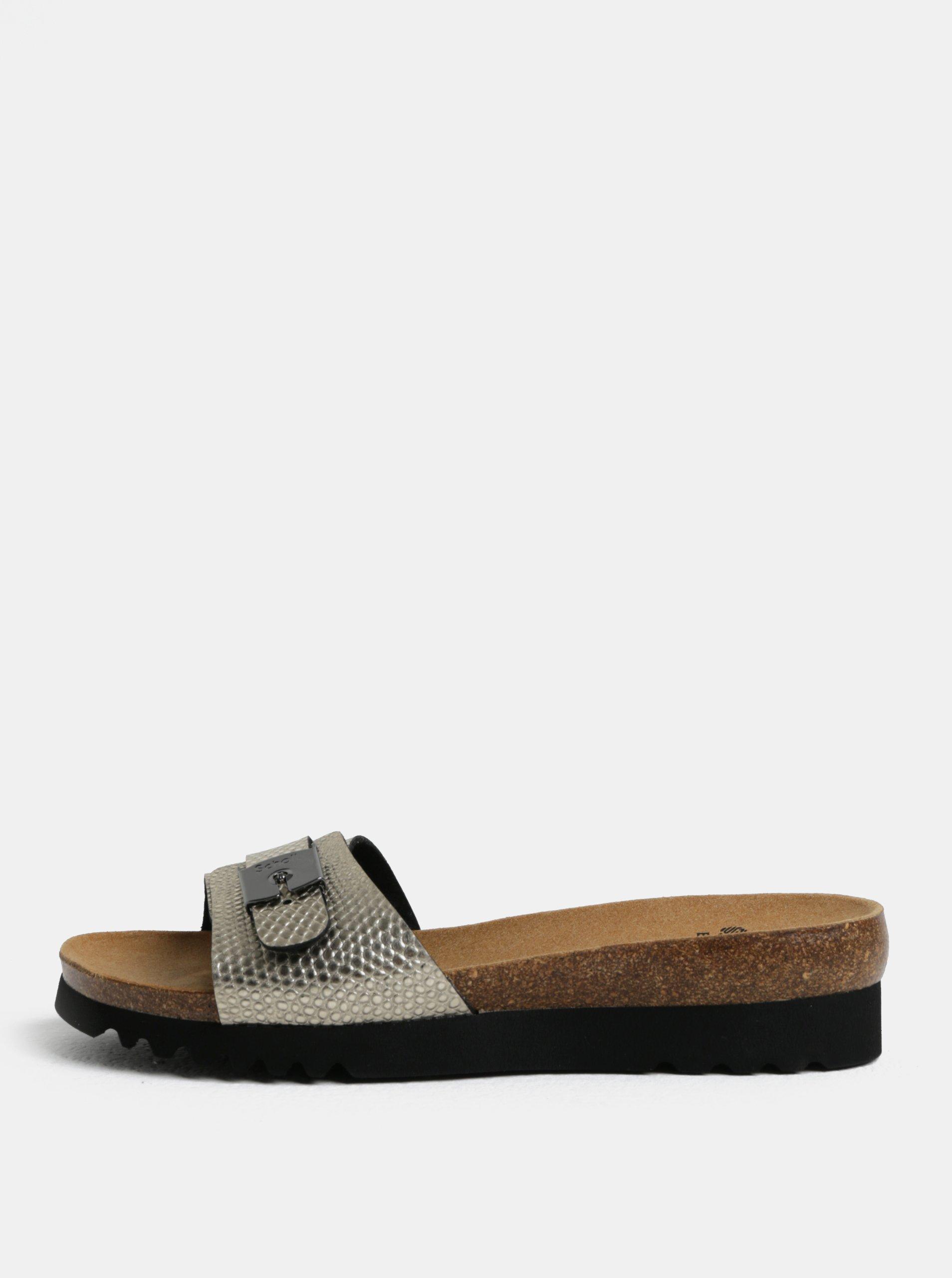 17921dc07cce Krémové dámske zdravotné papuče Scholl Ginni