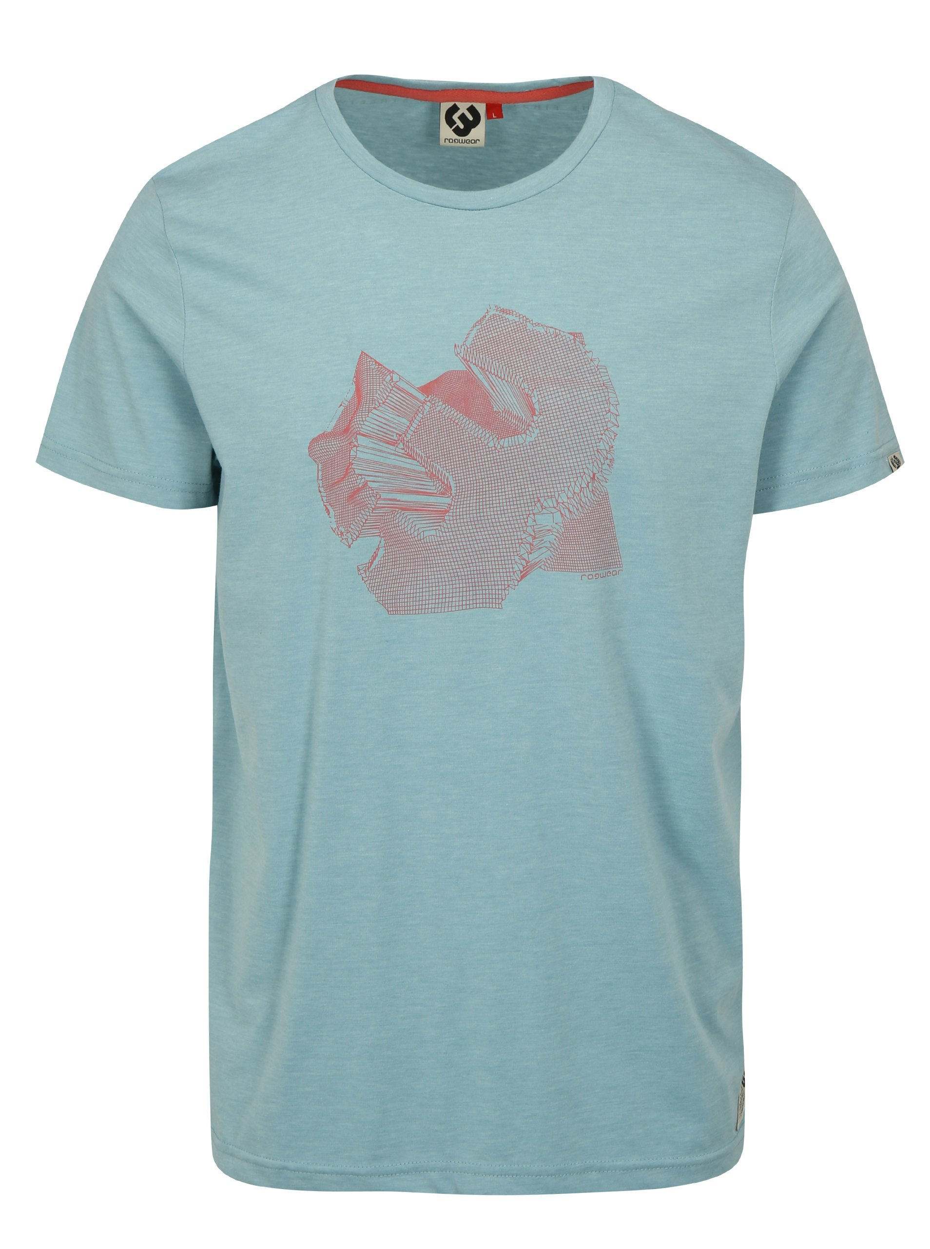 Svetlomodré pánske tričko Ragwear Nedie