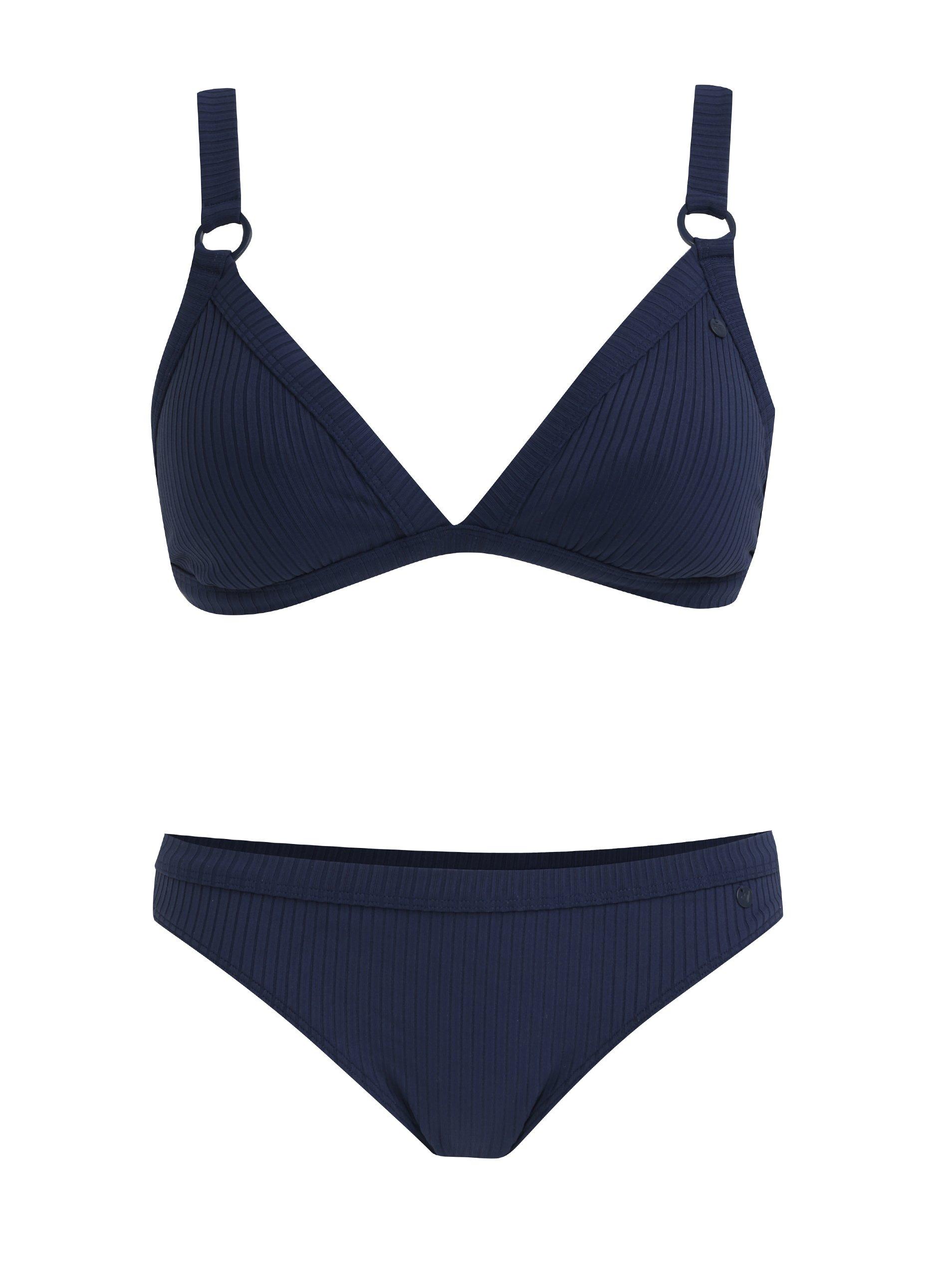 Tmavě modré dámské dvoudílné plavky Roxy Wa