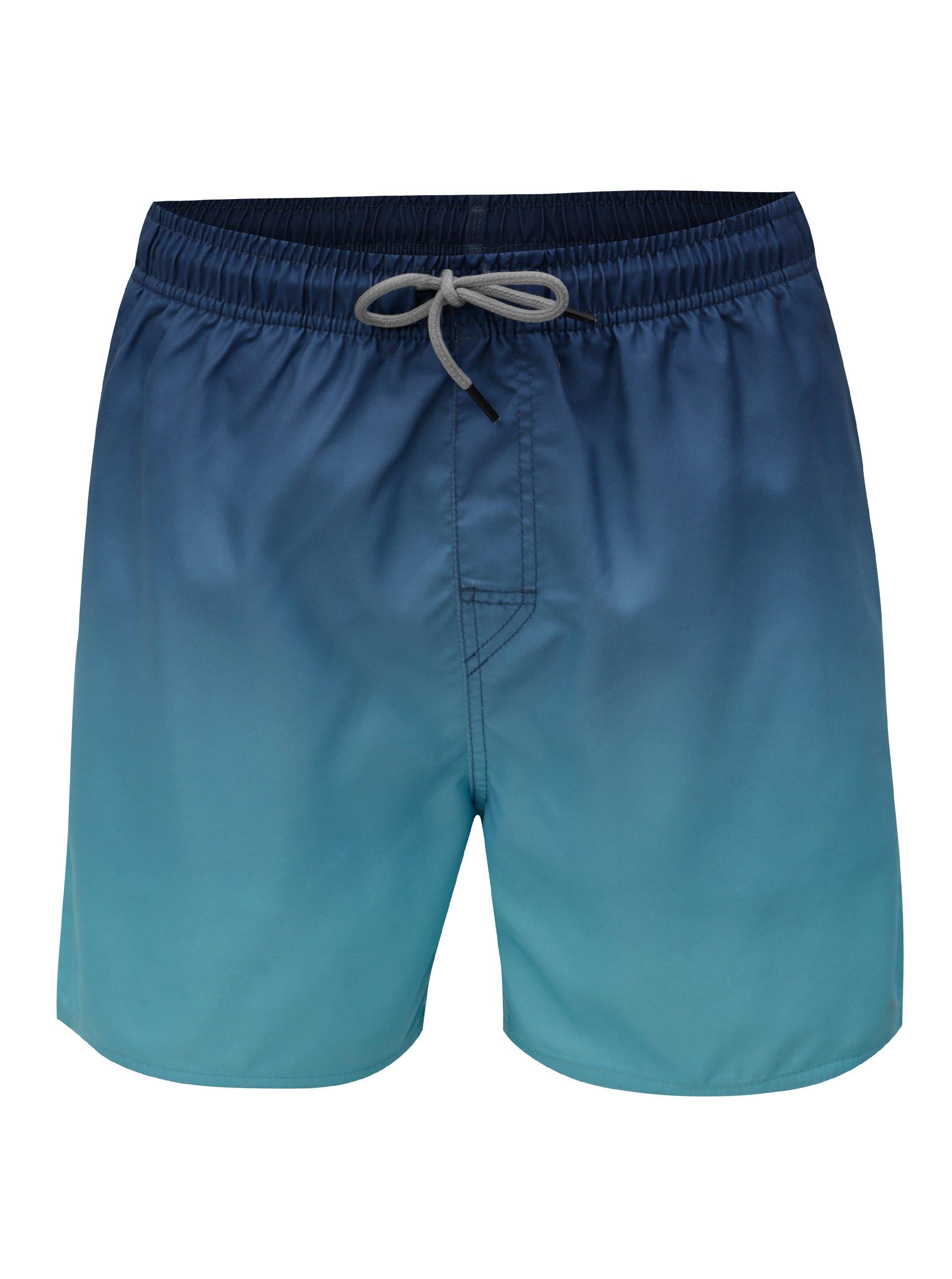 Zeleno-modré pásnke plavky Rip Curl