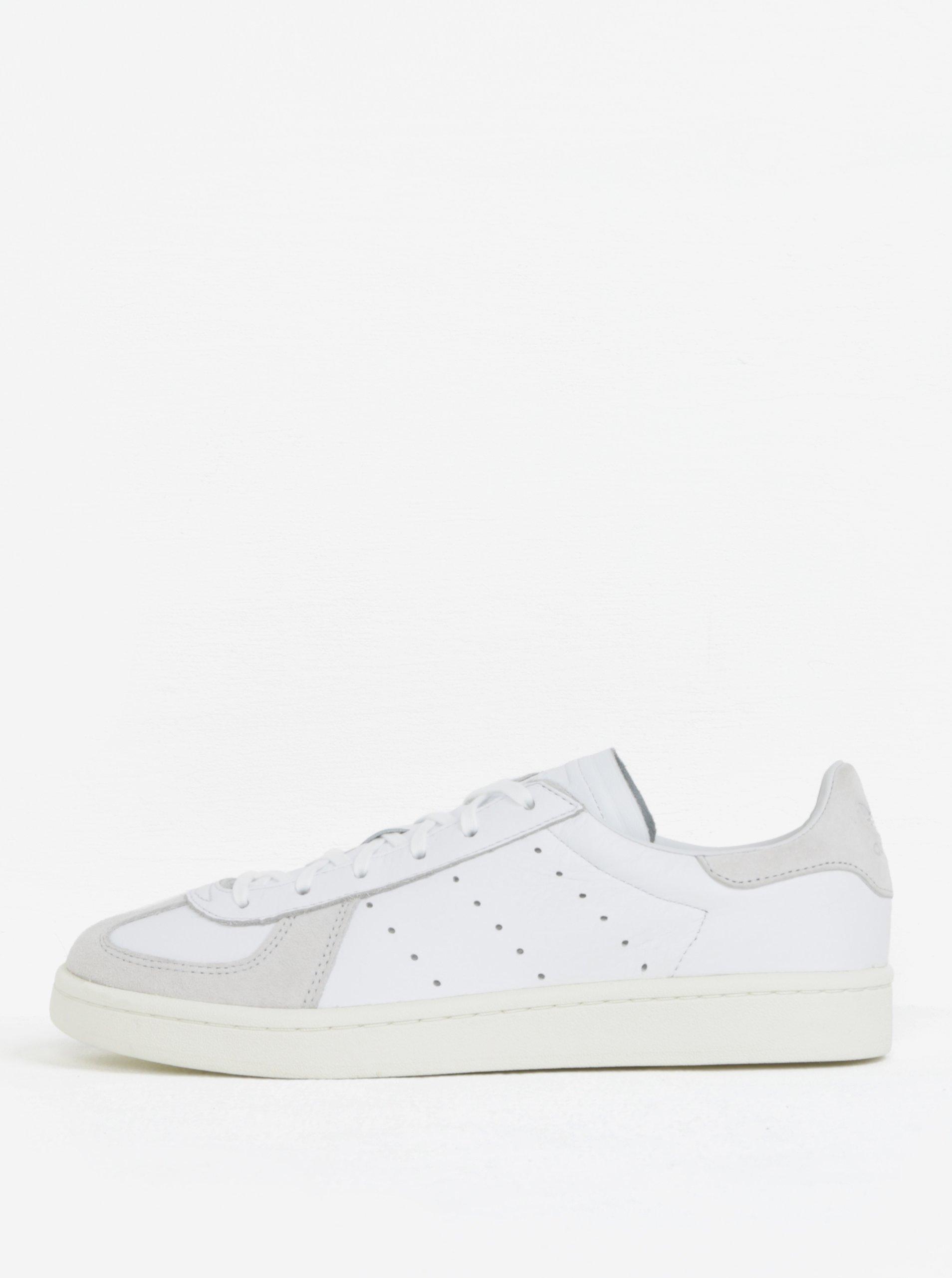 75e812f257 Bílé pánské kožené tenisky adidas Originals Avenue