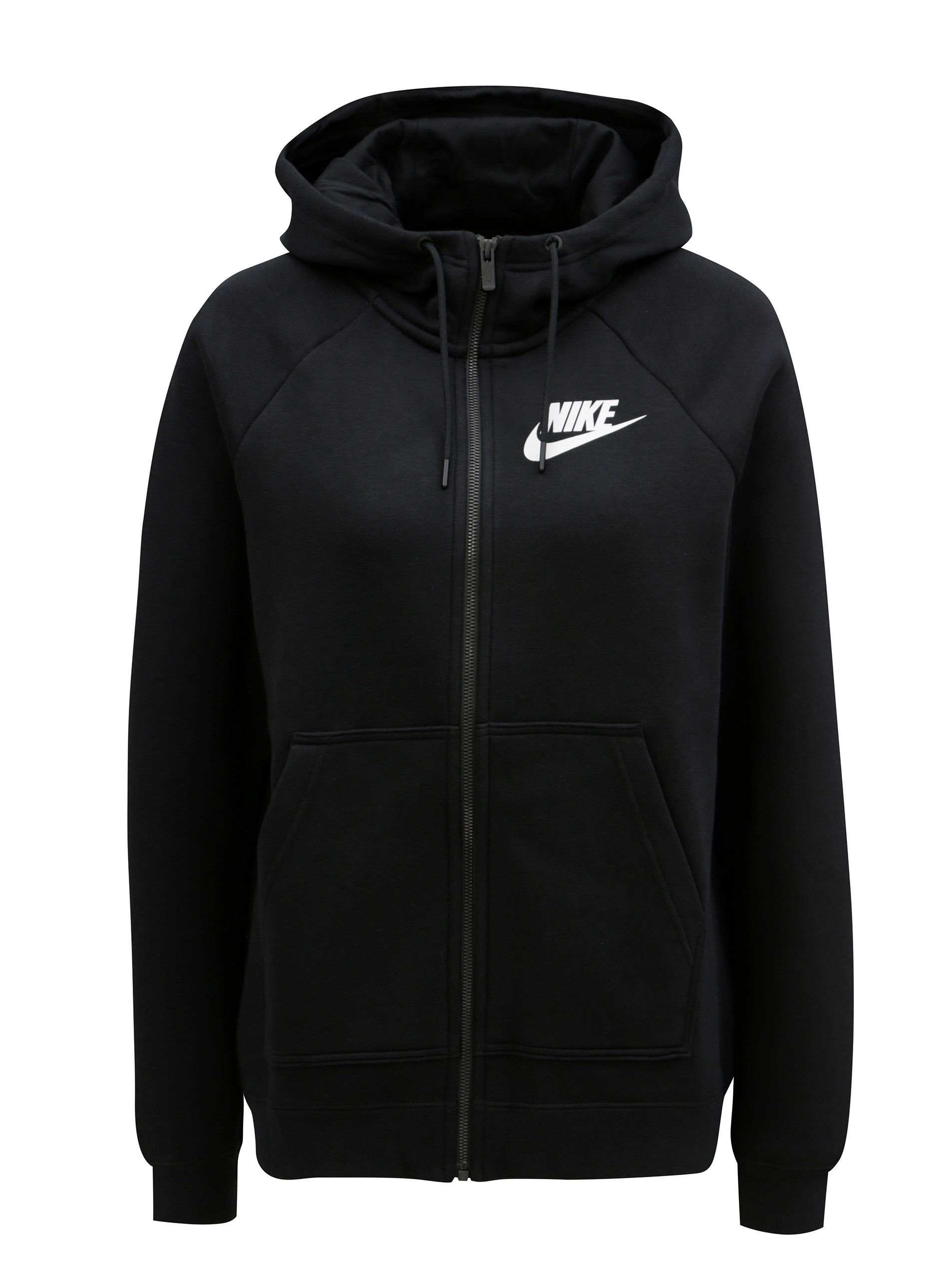 89b64fc8b36b Čierna dámska mikina na zips Nike Rally