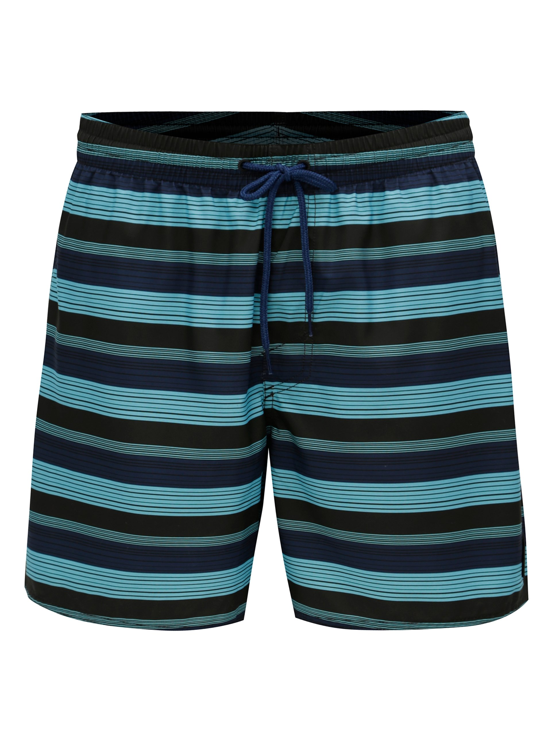 0505d07e123 Modré pánské pruhované plavky O Neill Bondi