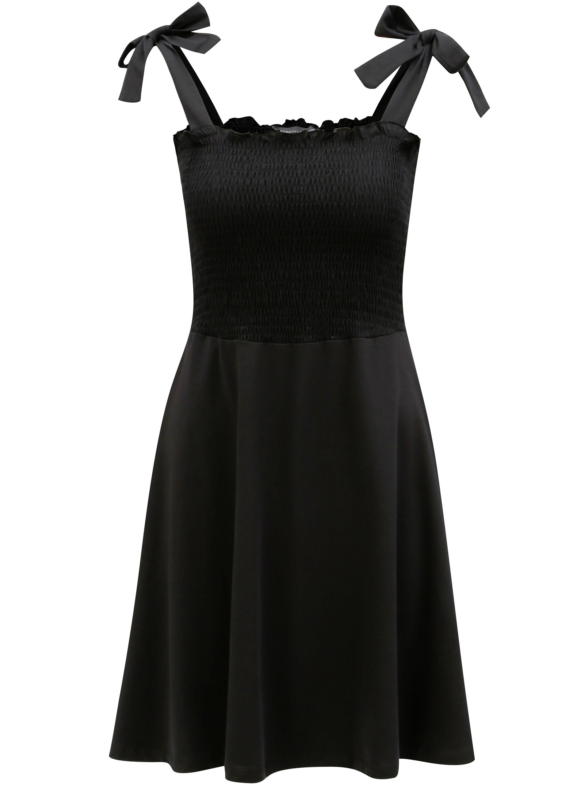 cd5dfe02d9d3 Čierne šaty na ramienka Dorothy Perkins