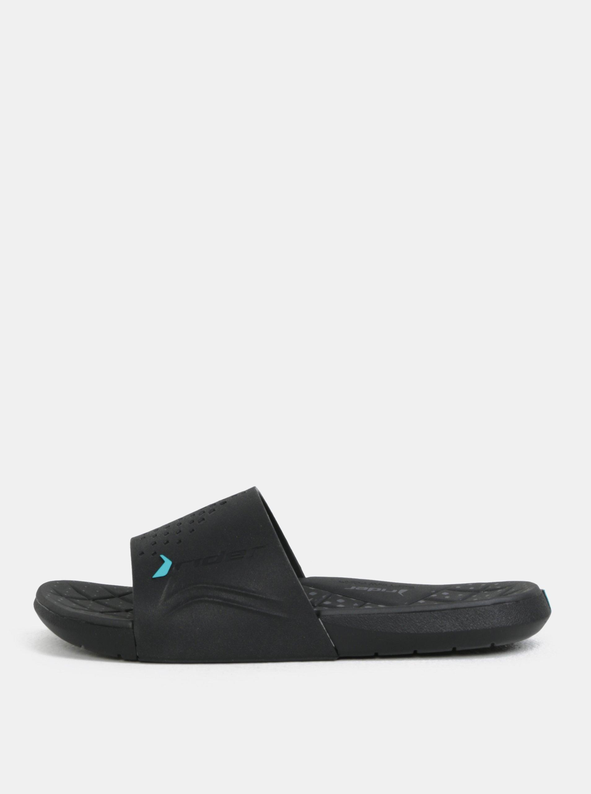Černé pánské pantofle Rider