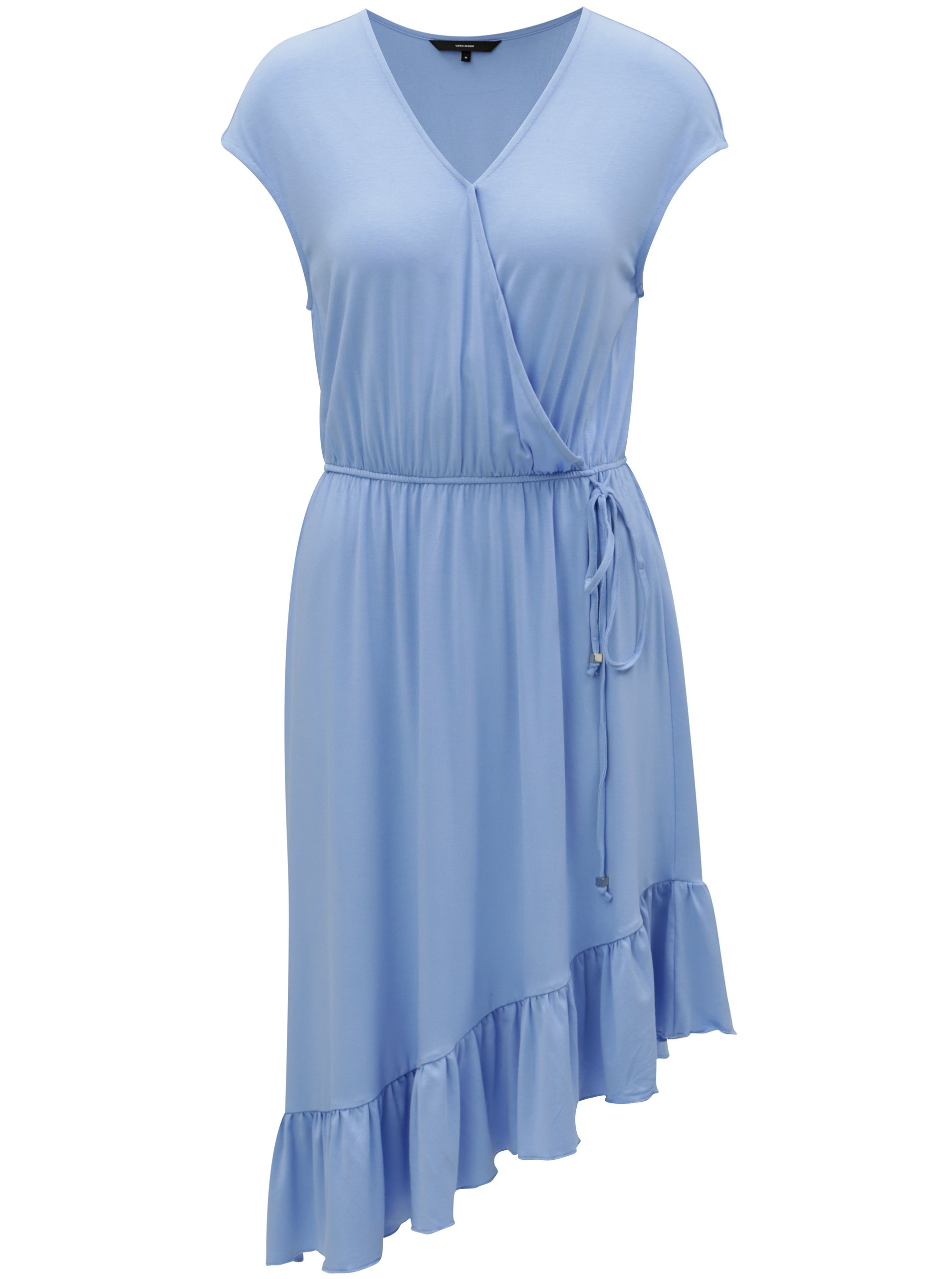 Světle modré asymetrické šaty VERO MODA Gloria f17120c399