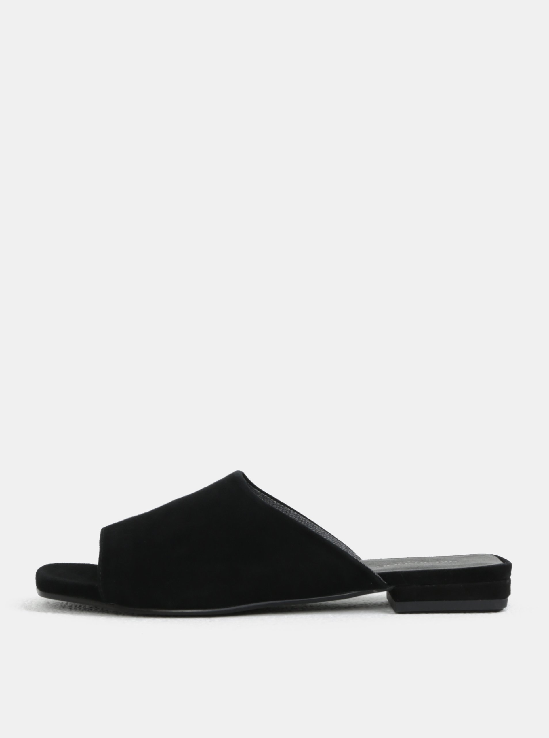 420da05f197f Černé dámské semišové pantofle Vagabond Becky