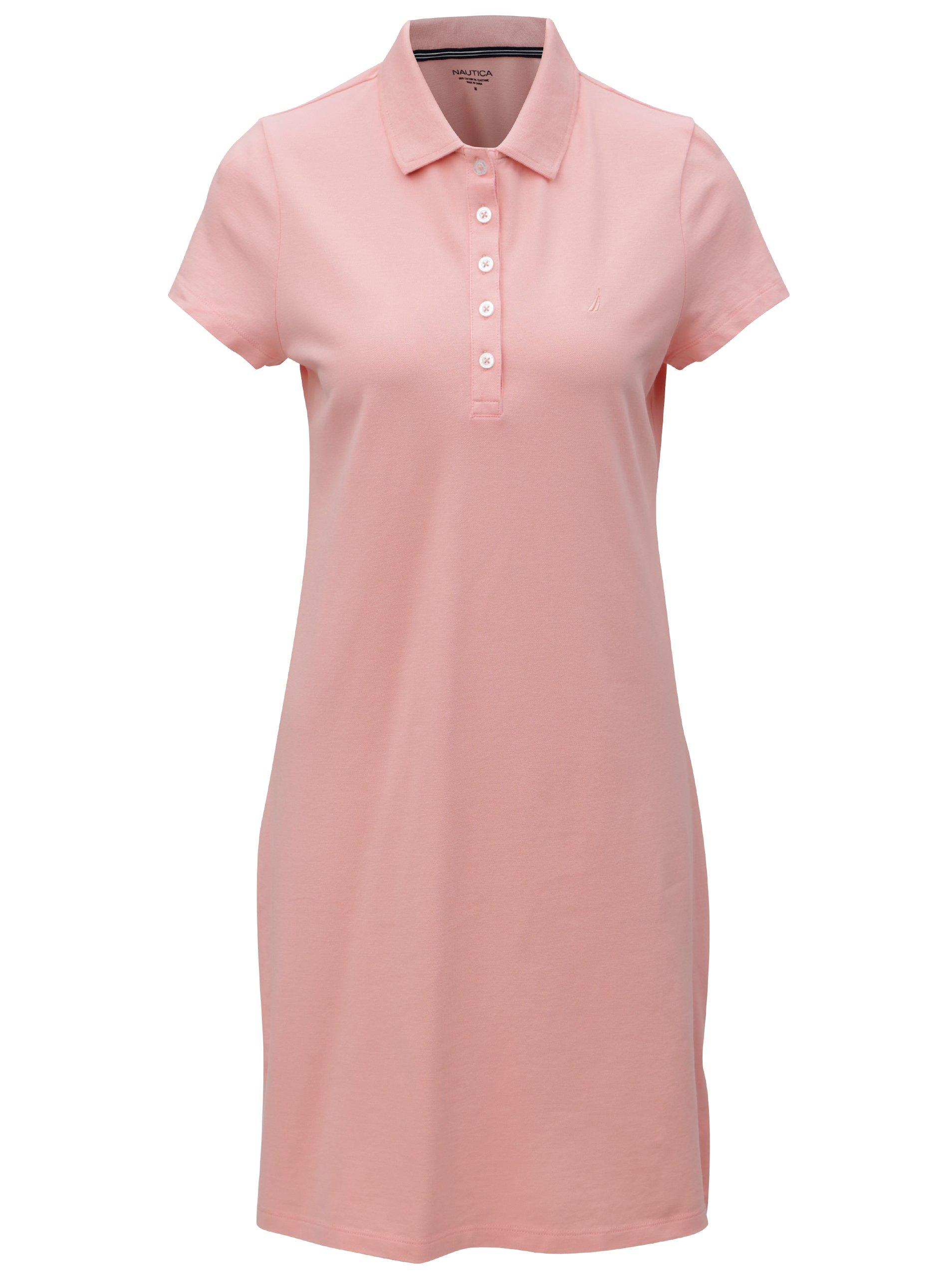 Světle růžové šaty Nautica Alhoa