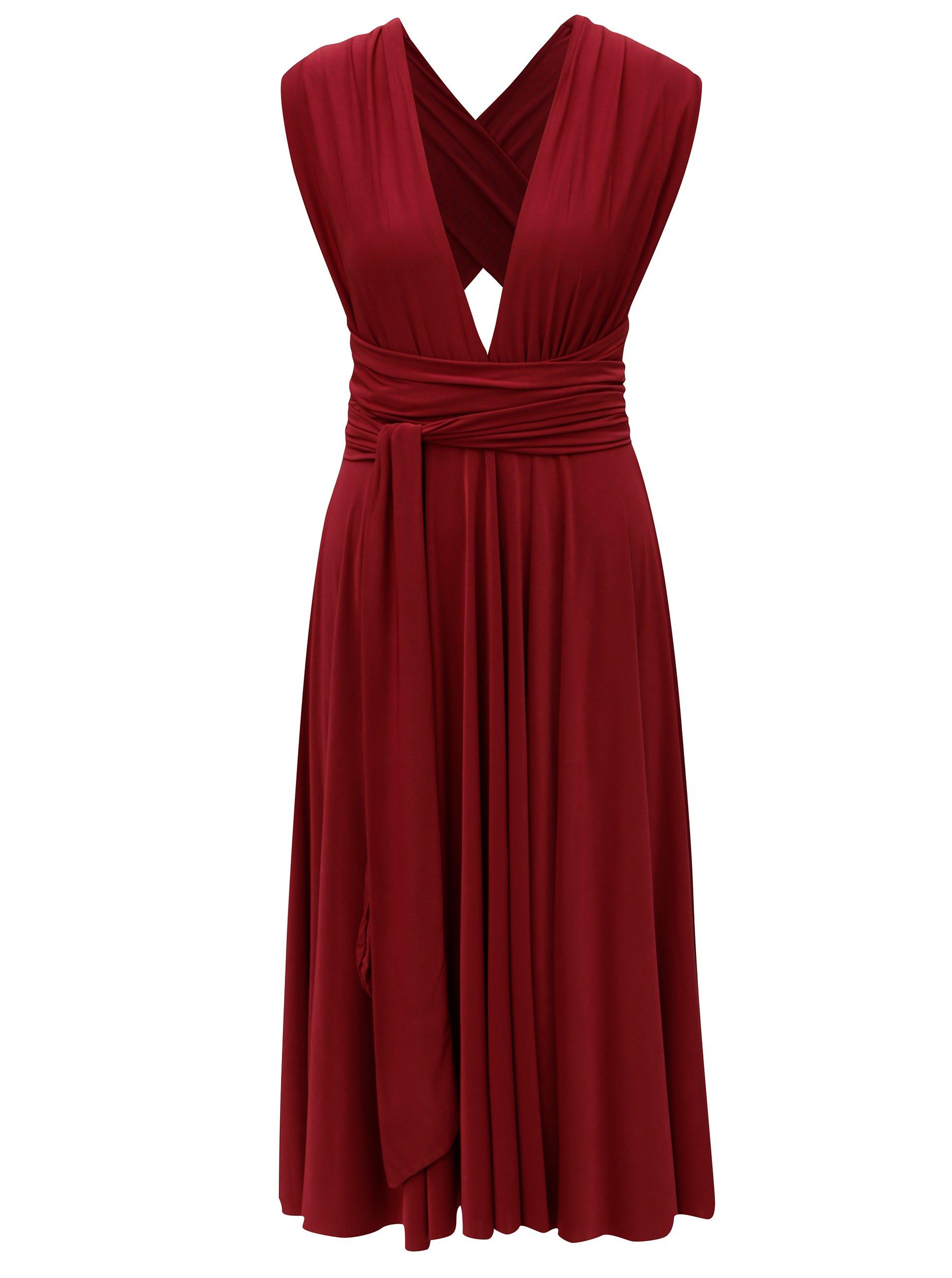 Vínové variabilné šaty/sukňa ZOOT