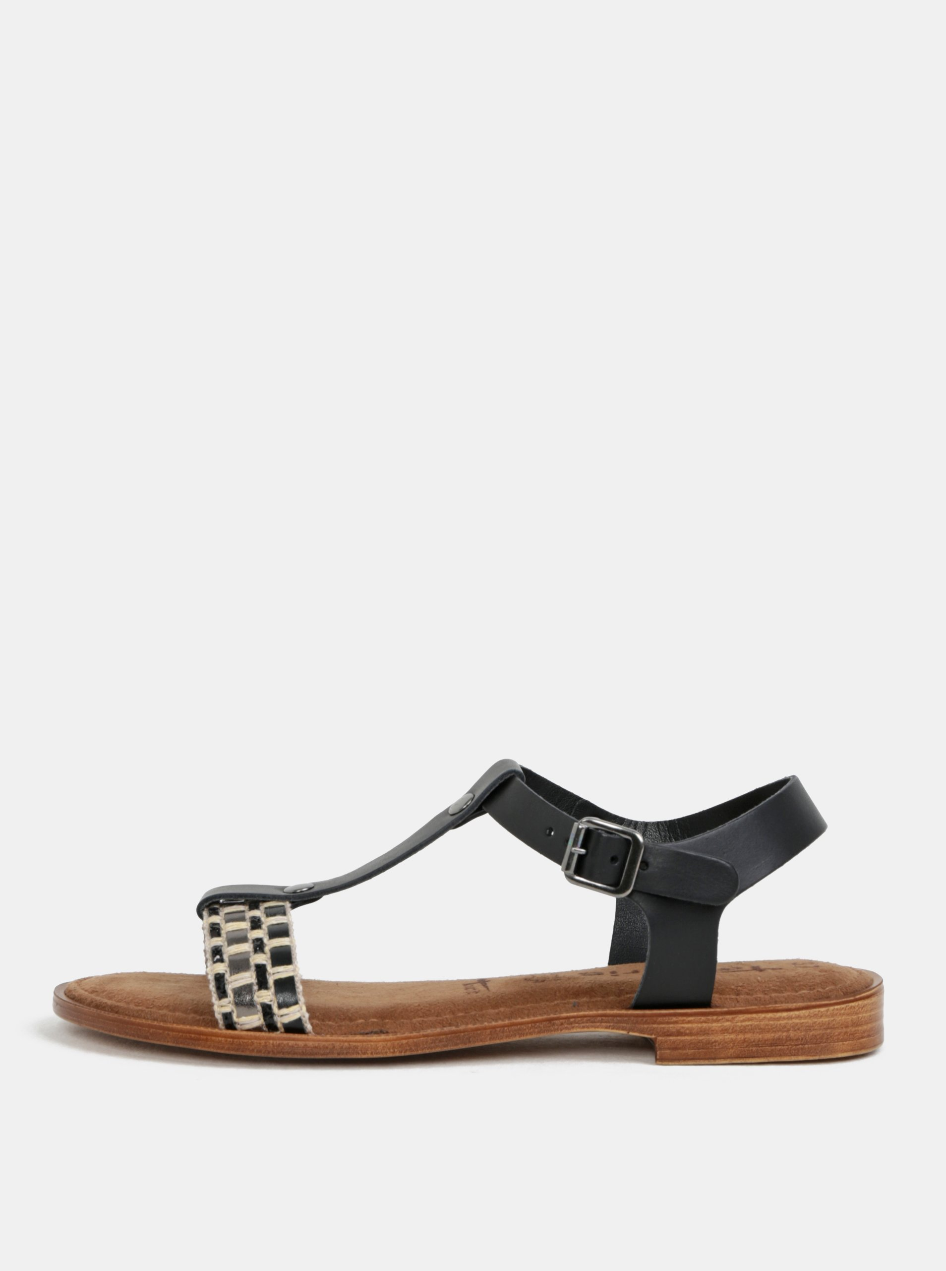 3da6302a650d Tamaris topanky cierne sandale damske
