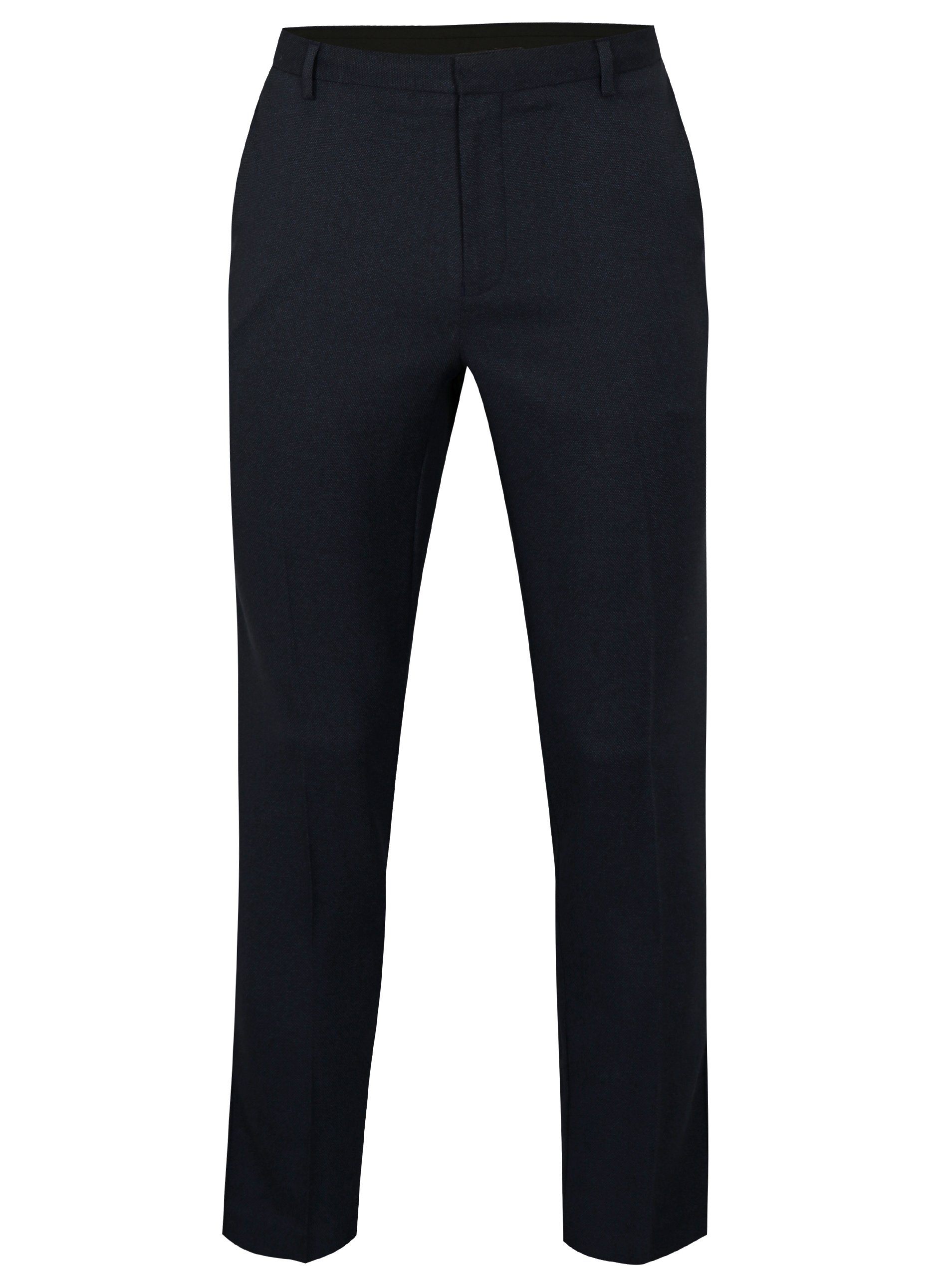 9879fbeb0e Tmavomodré slim fit nohavice Burton Menswear London