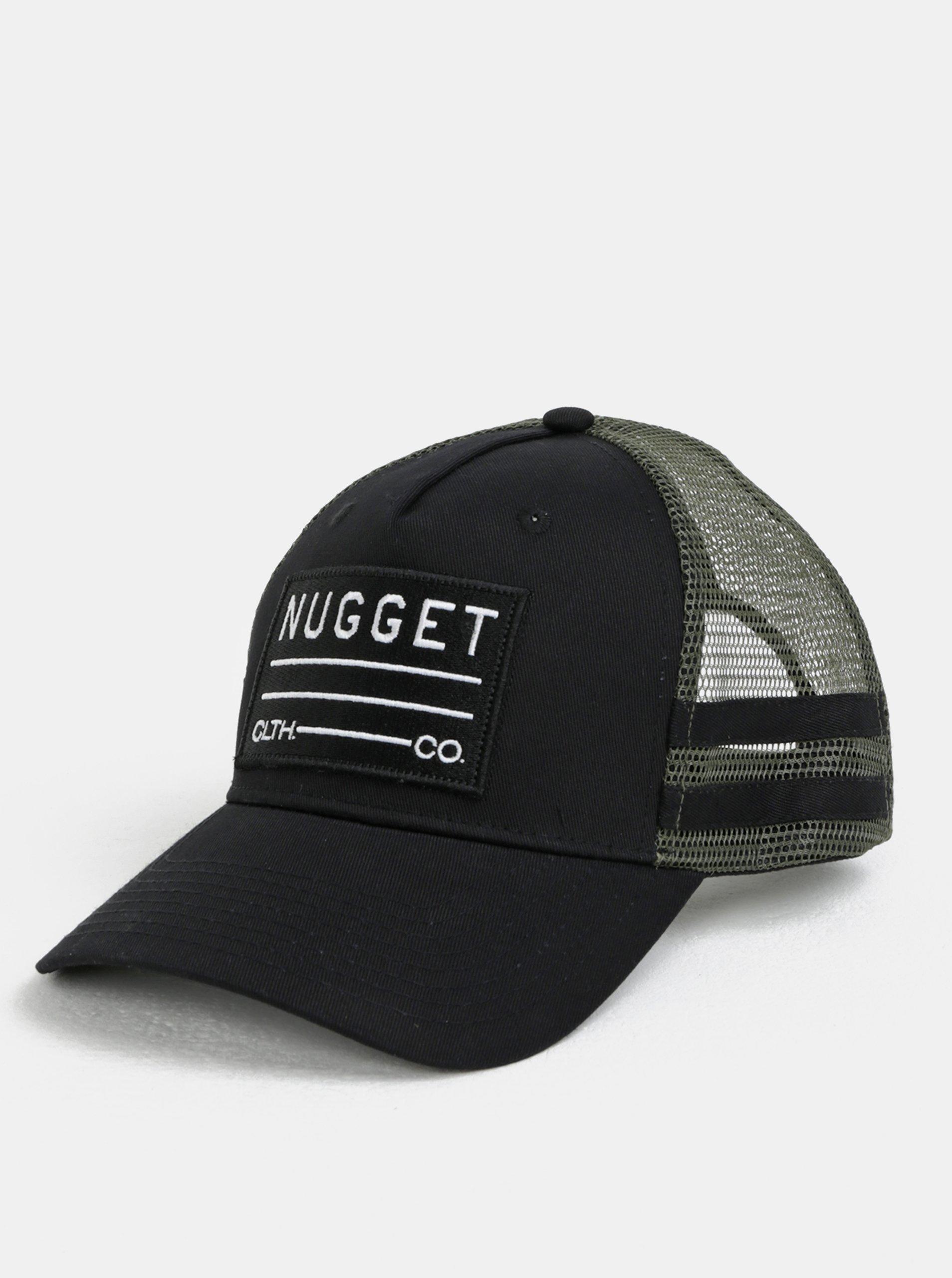 44ed5078a57 Černá pánská kšiltovka NUGGET Slope