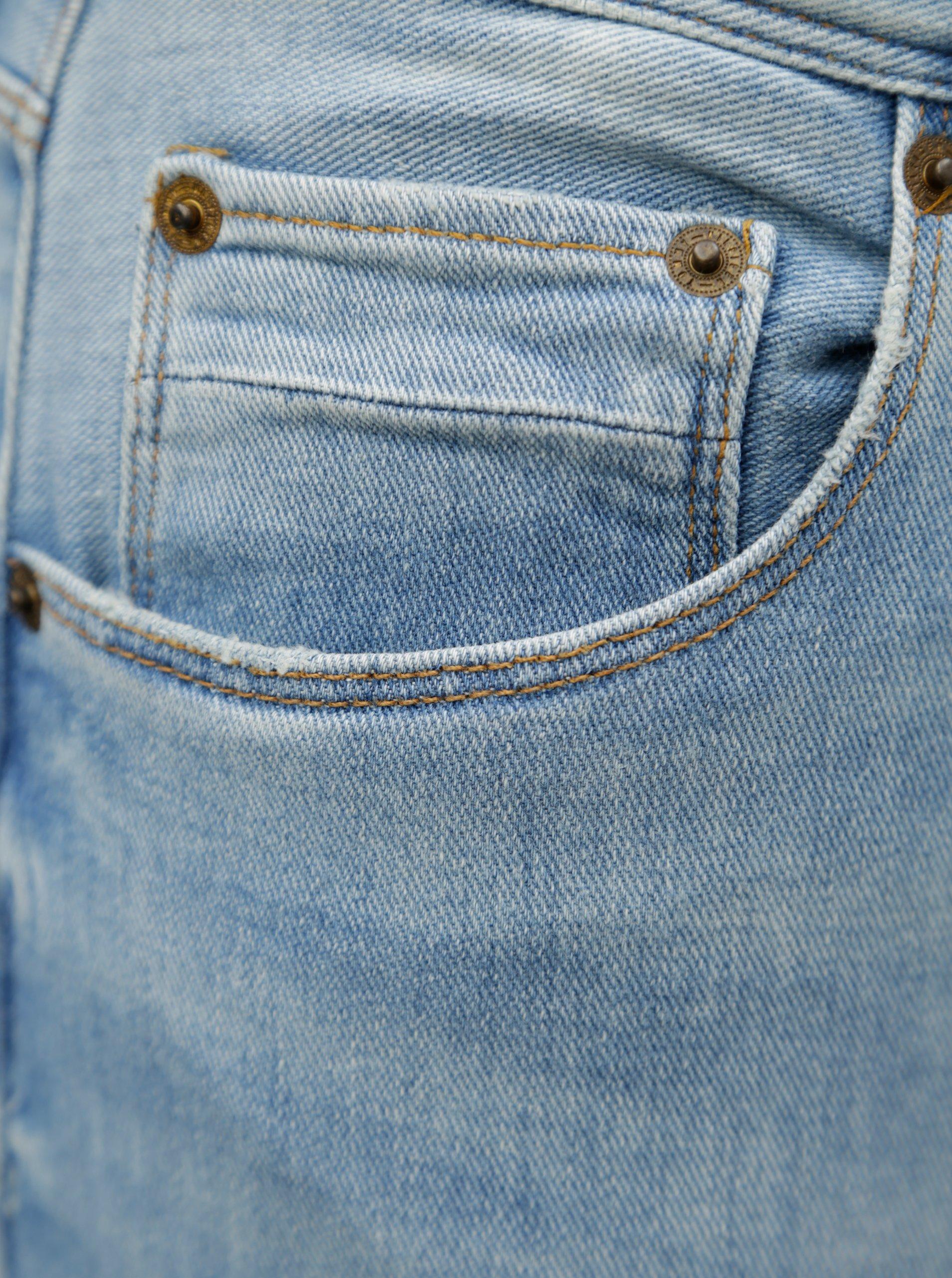 ca5a87cf568 Světle modré pánské straight fit džíny Tommy Hilfiger