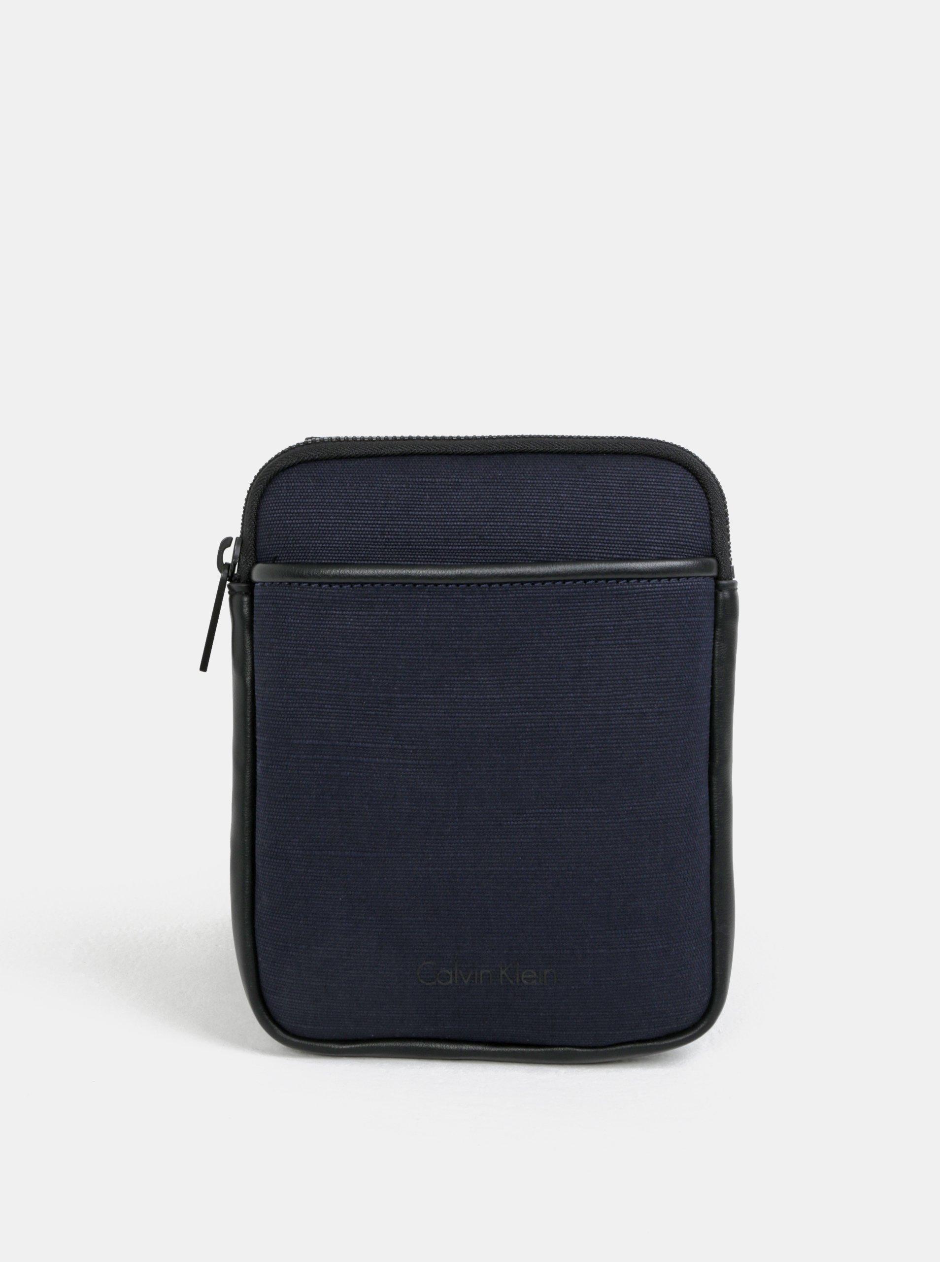 Tmavě modrá pánská crossbody taška Calvin Klein Jeans