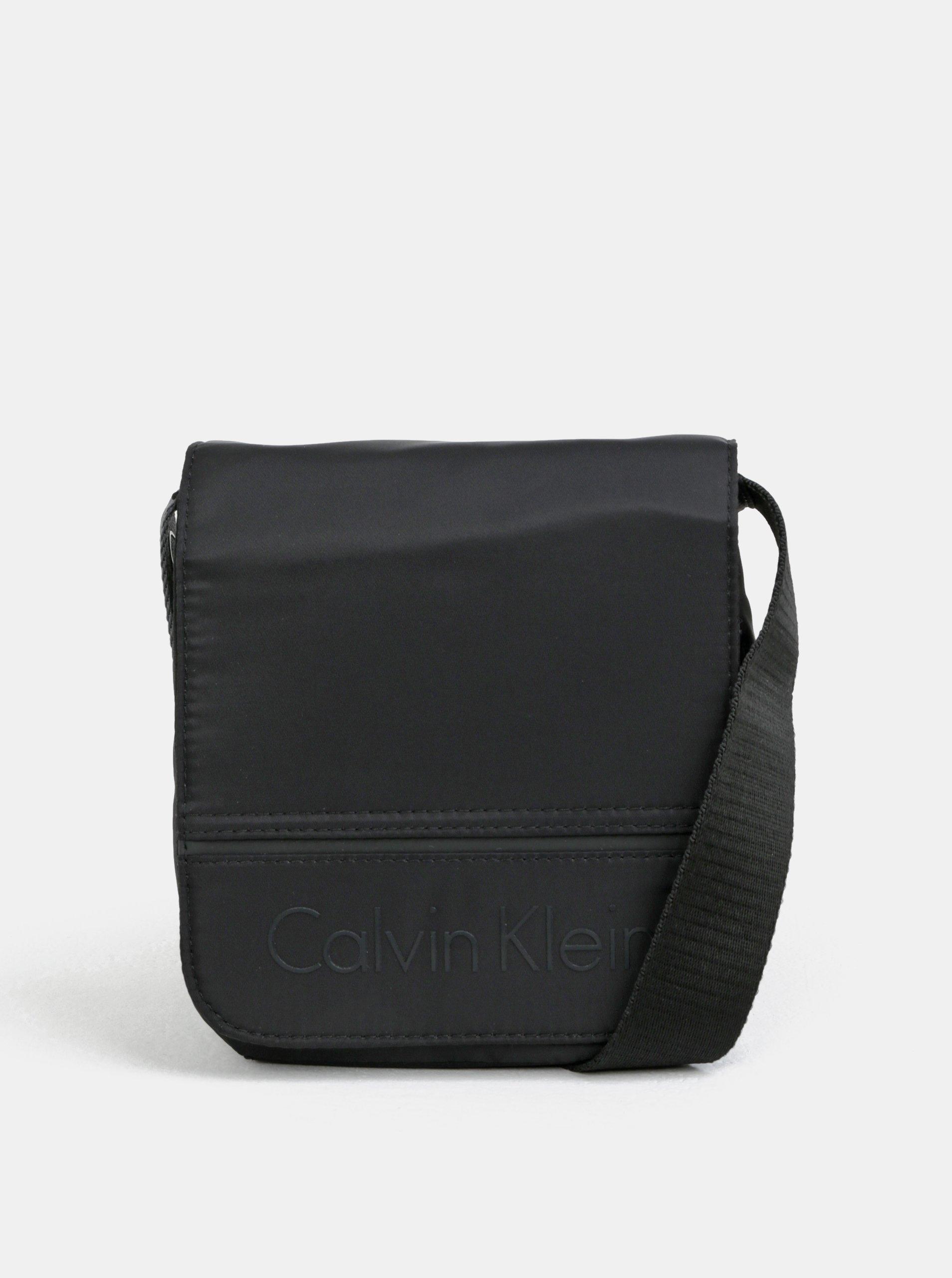 Fotografie Černá pánská crossbody taška Calvin Klein Jeans