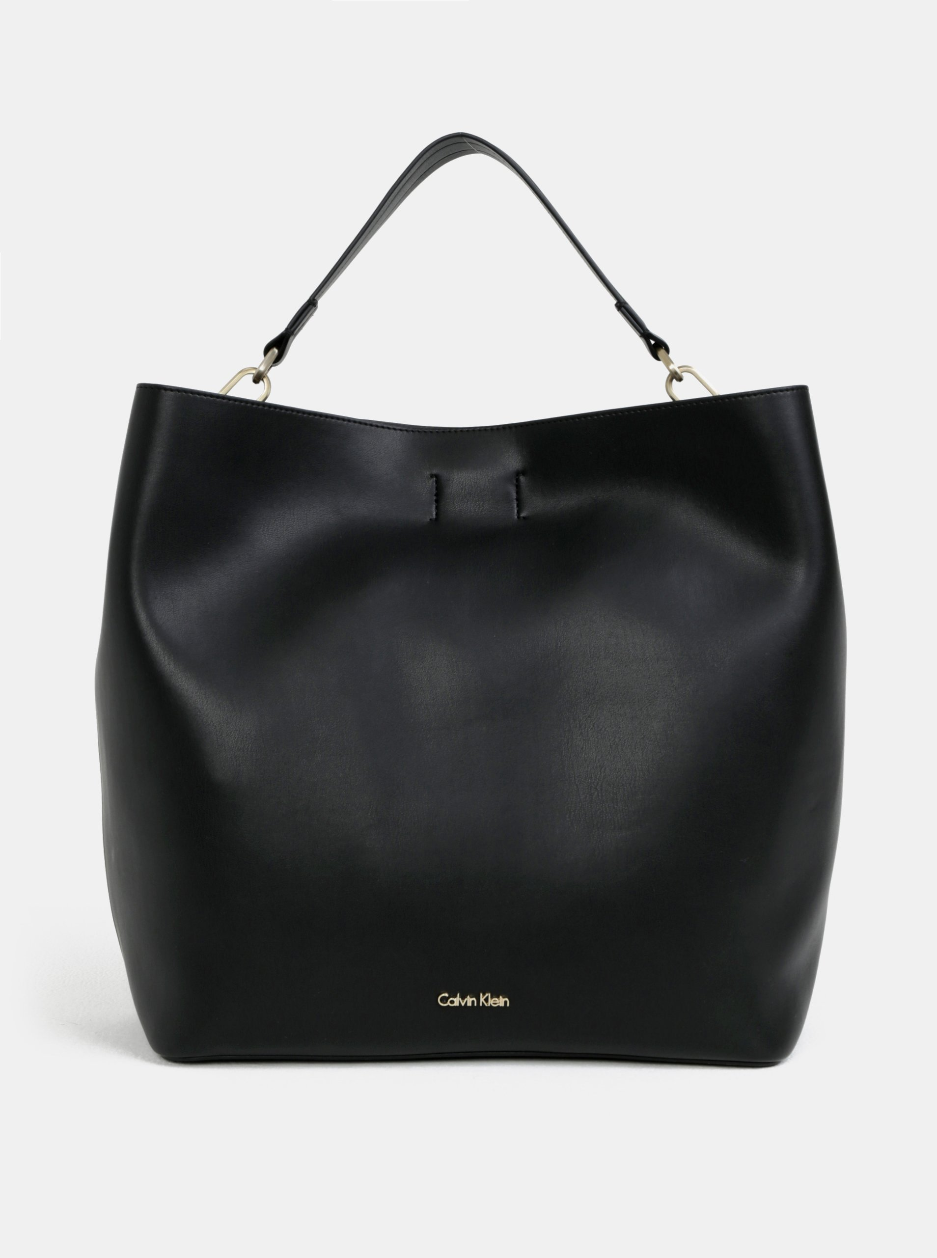 075b943b62ba Čierna veľká kabelka Calvin Klein Jeans
