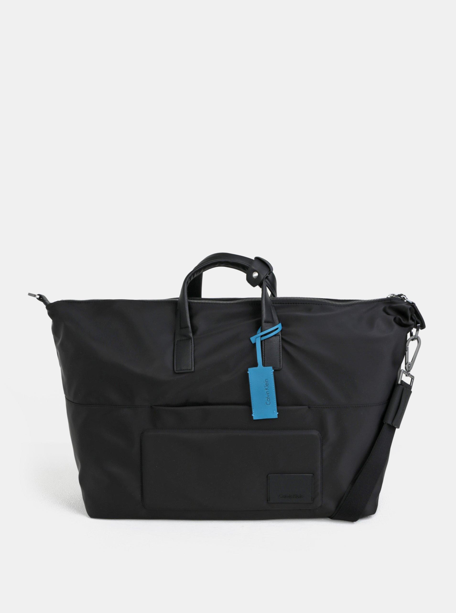 Čierna cestovná taška s vakom Calvin Klein Jeans