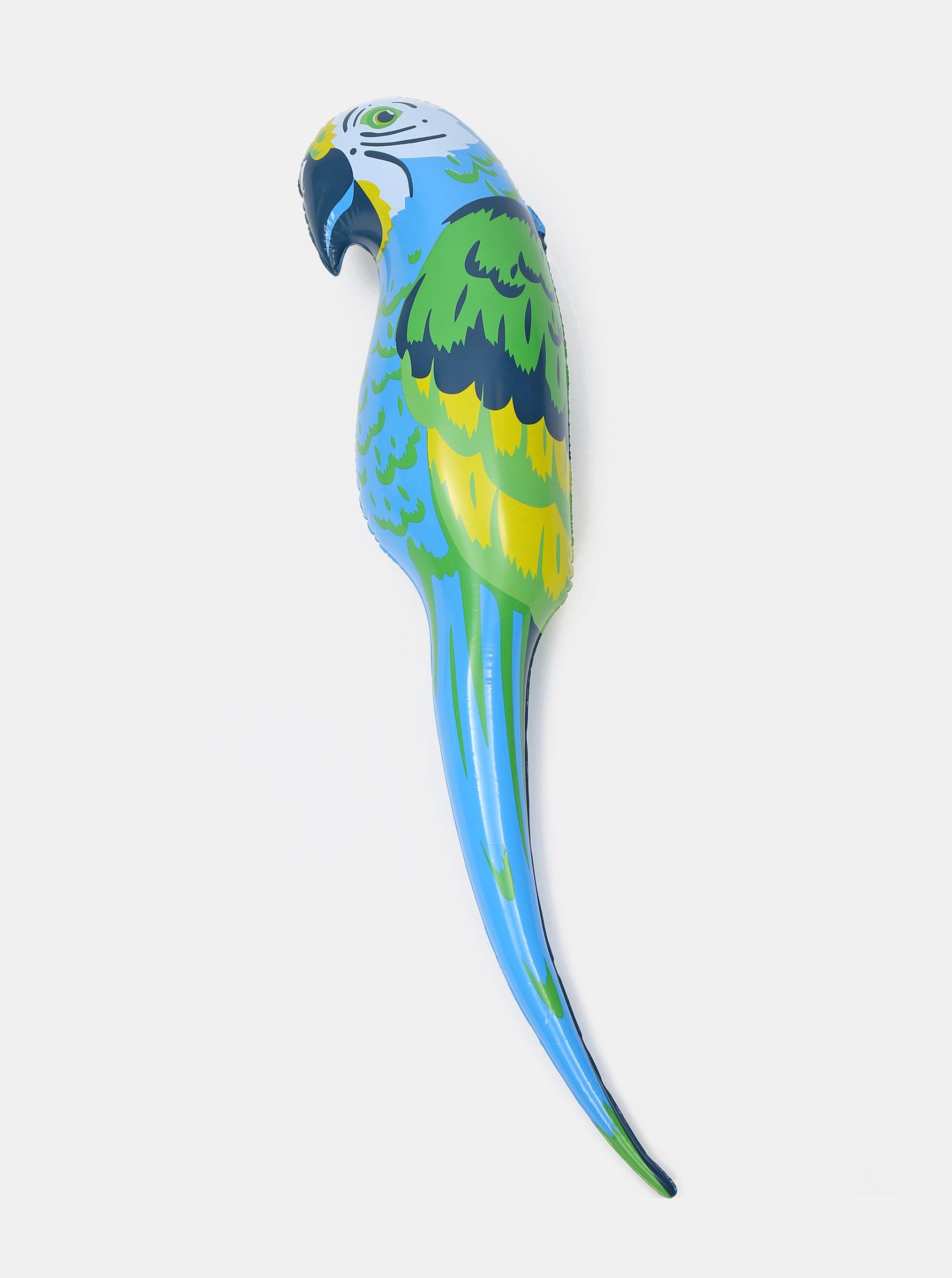 Modrý nafukovací papoušek SIFCON