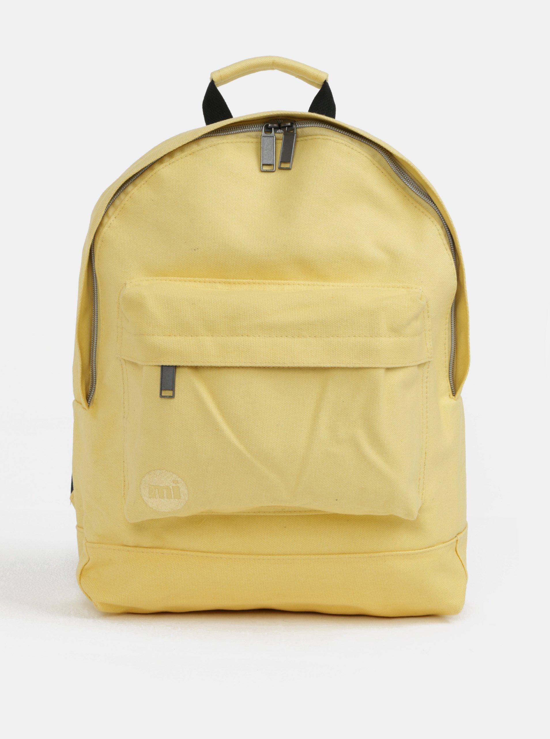 Fotografie Žlutý dámský batoh Mi-Pac Canvas