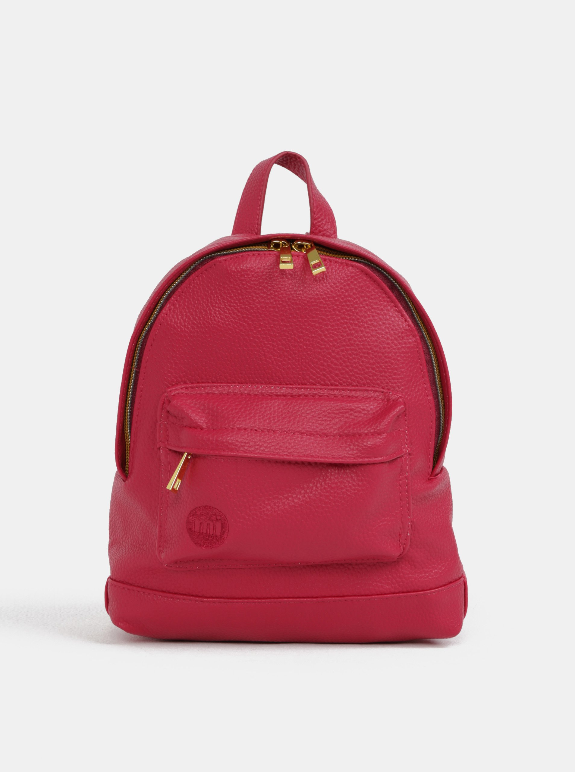 Tmavě růžový dámský voděodolný batoh Mi-Pac Gold Super Mini