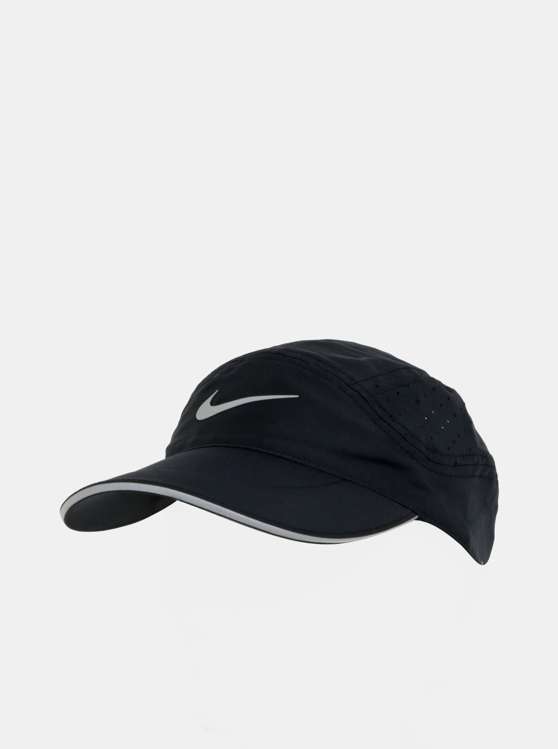 Černá dámská funkční kšiltovka Nike Elite