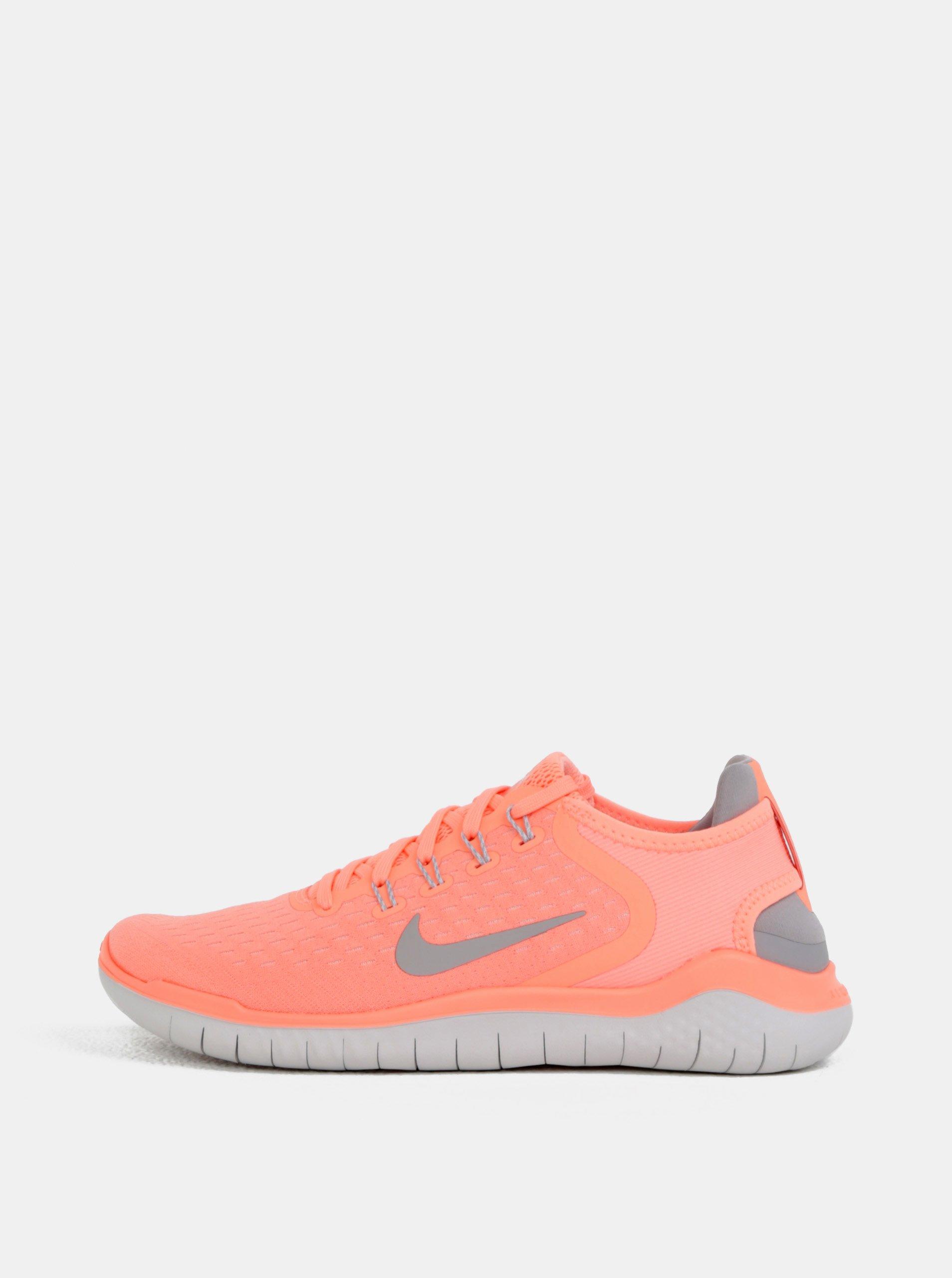 Neonovooranžové dámske tenisky Nike Free RN 2018