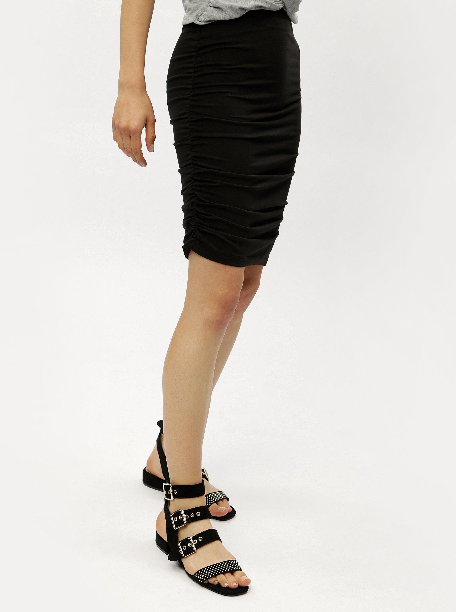 Černá pouzdrová sukně Jacqueline de Yong 006840c0e7