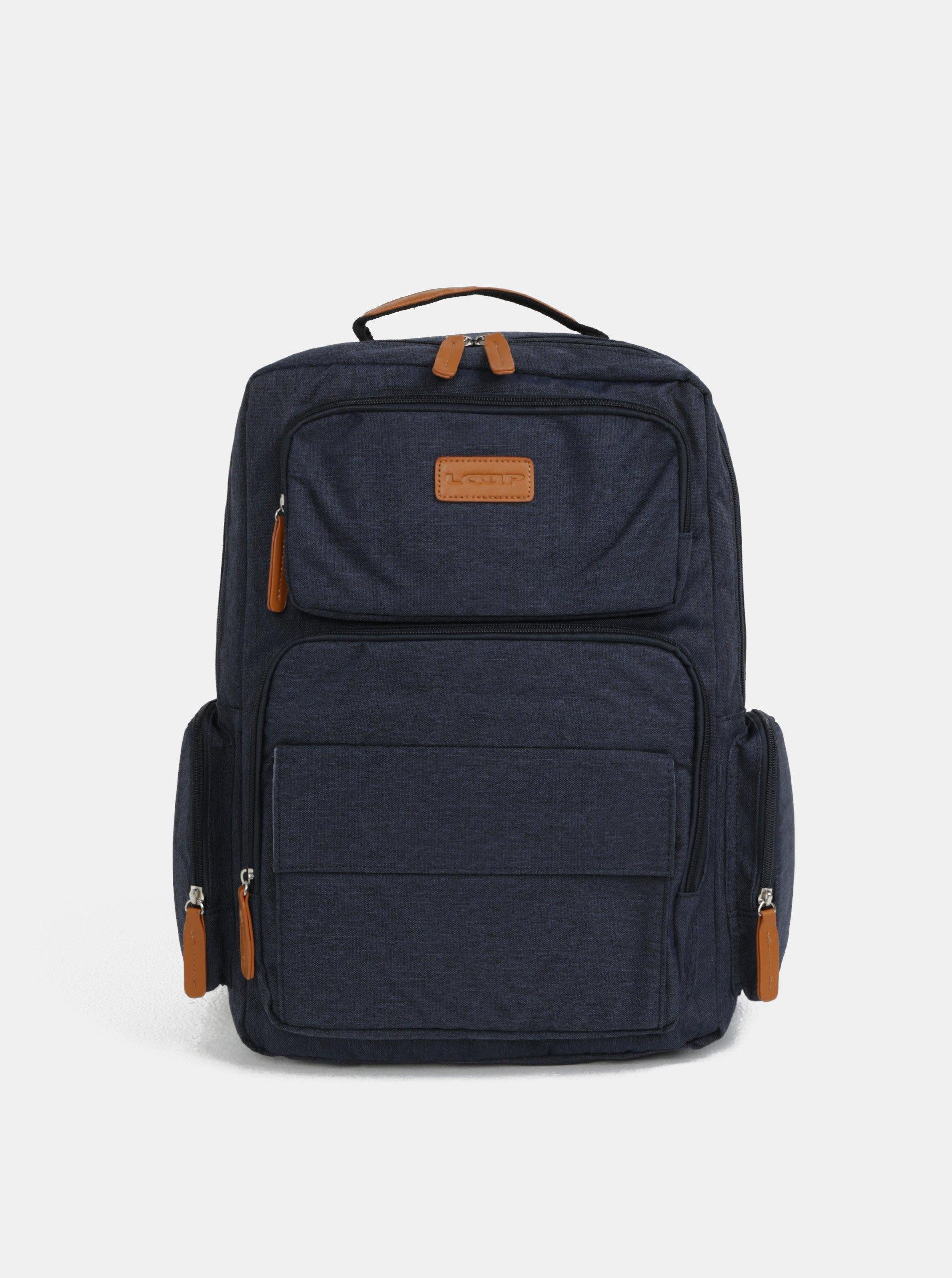 822f51acaff Modrý batoh na notebook LOAP Eos