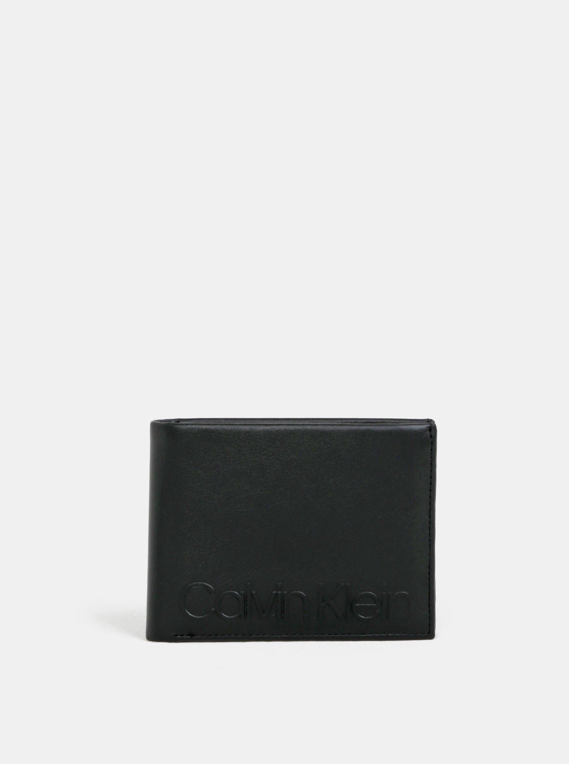 Čierna pánska kožená peňaženka Calvin Klein Jeans 9b42aa25e09