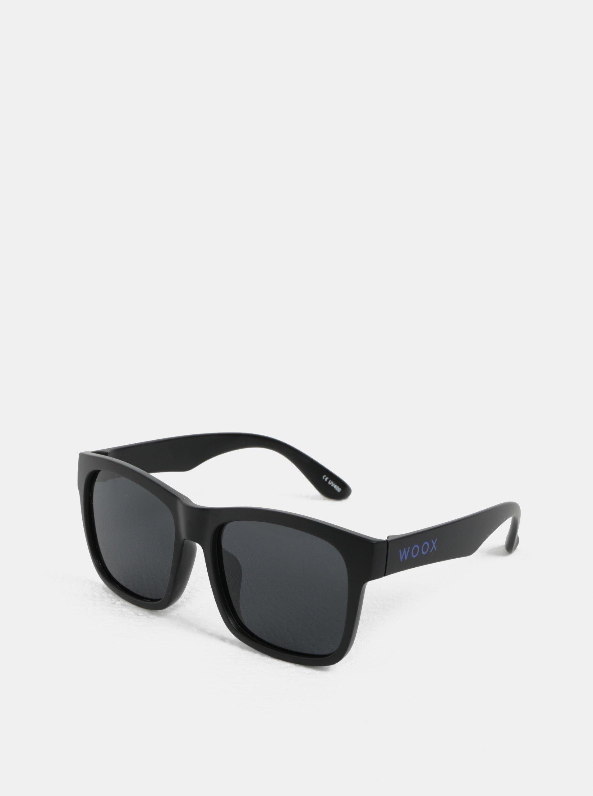 Černé pánské sluneční brýle WOOX Antilumen Stria
