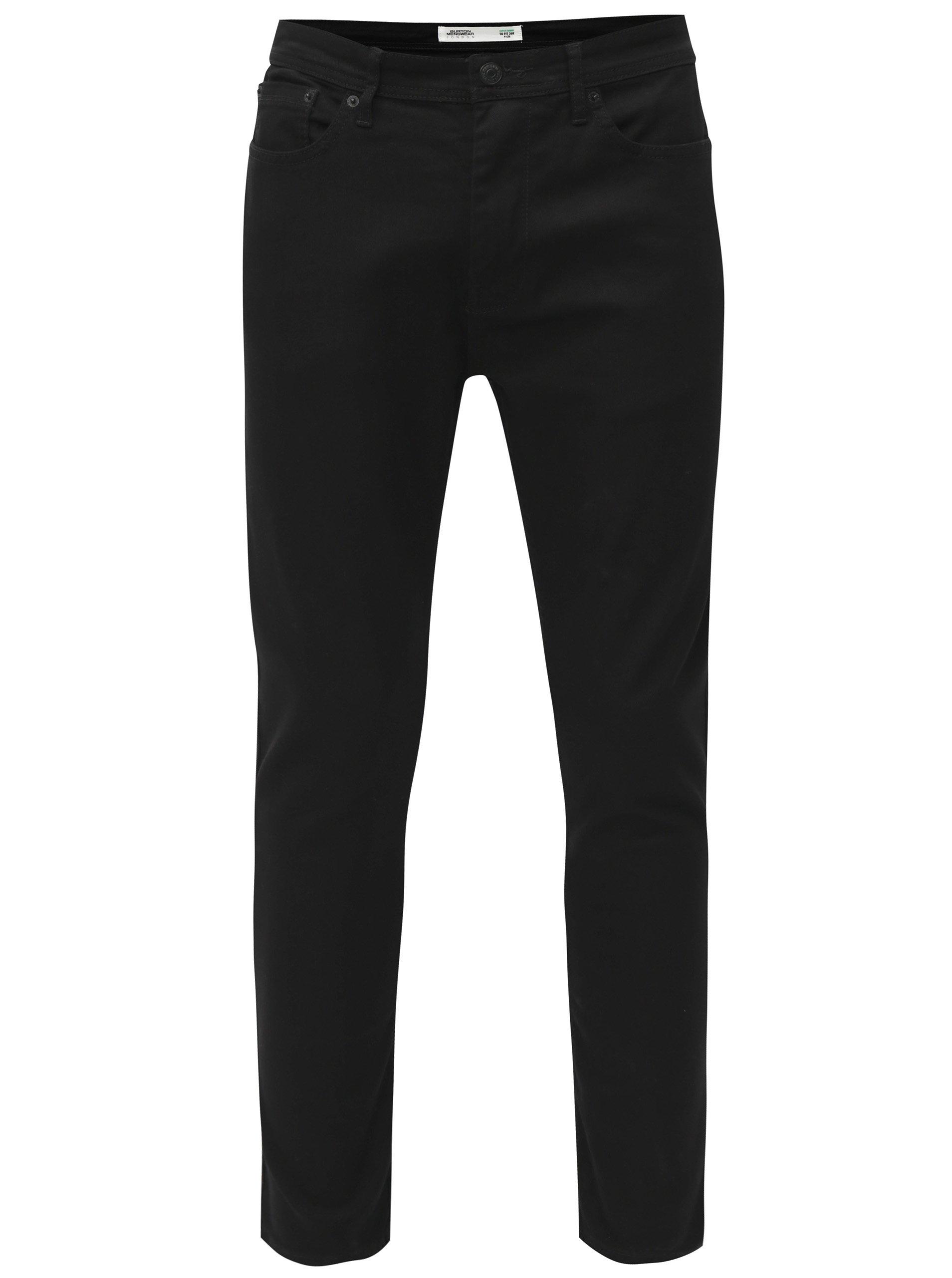 Černé skinny fit džíny Burton Menswear London