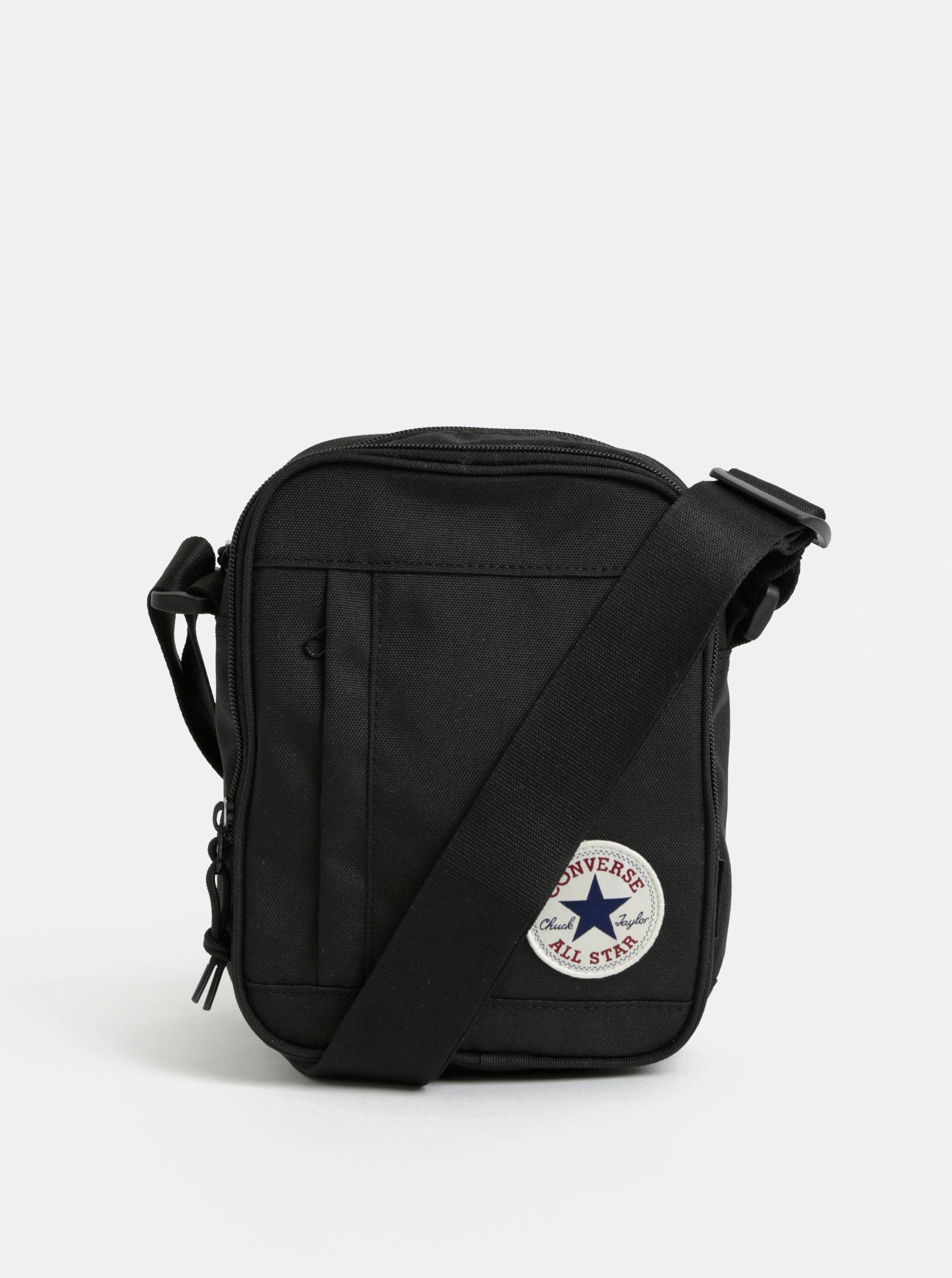 Černá malá crossbody taška Converse Poly Cross Body