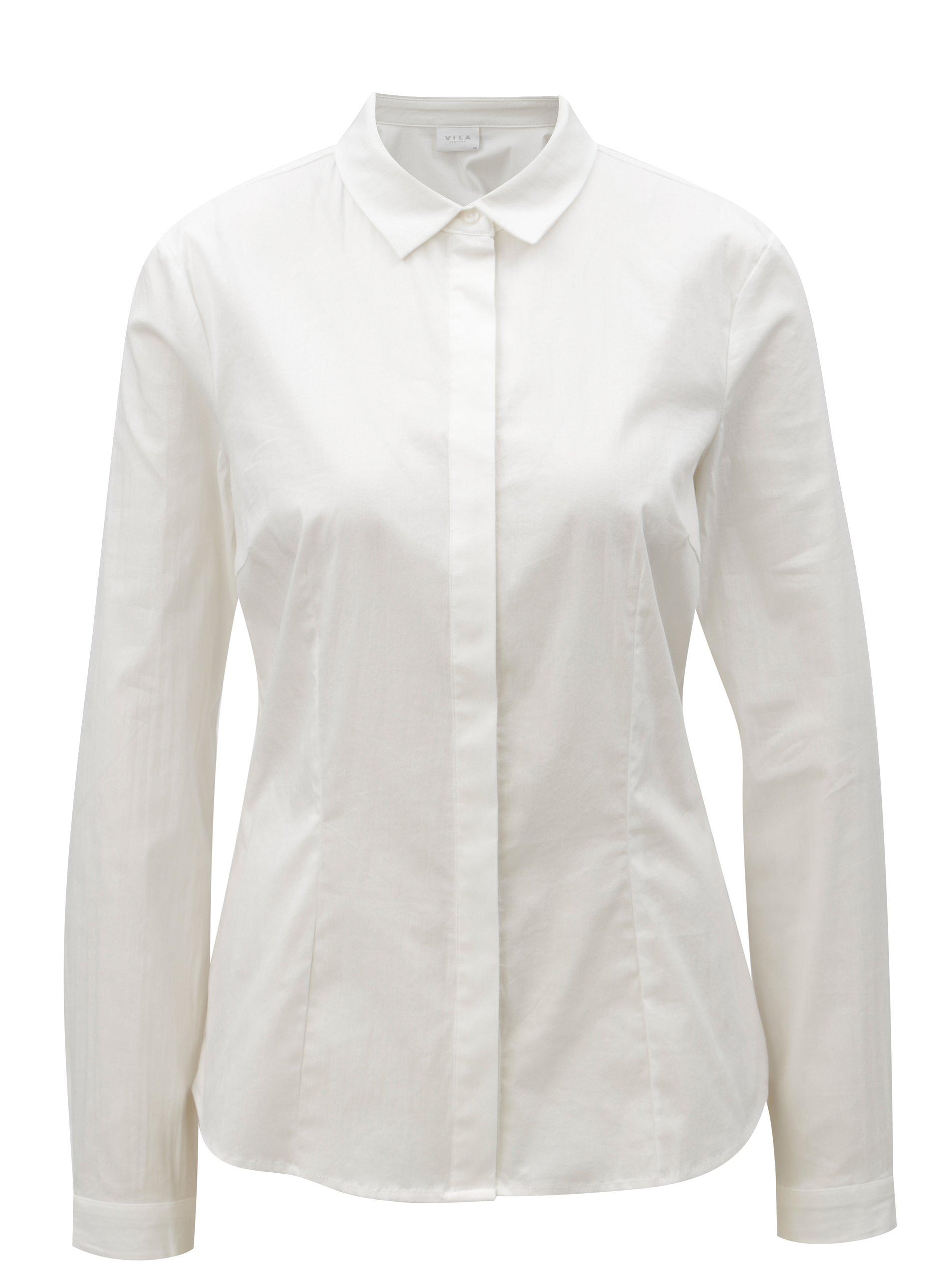 f0afbb21a4c Bílá košile VILA White