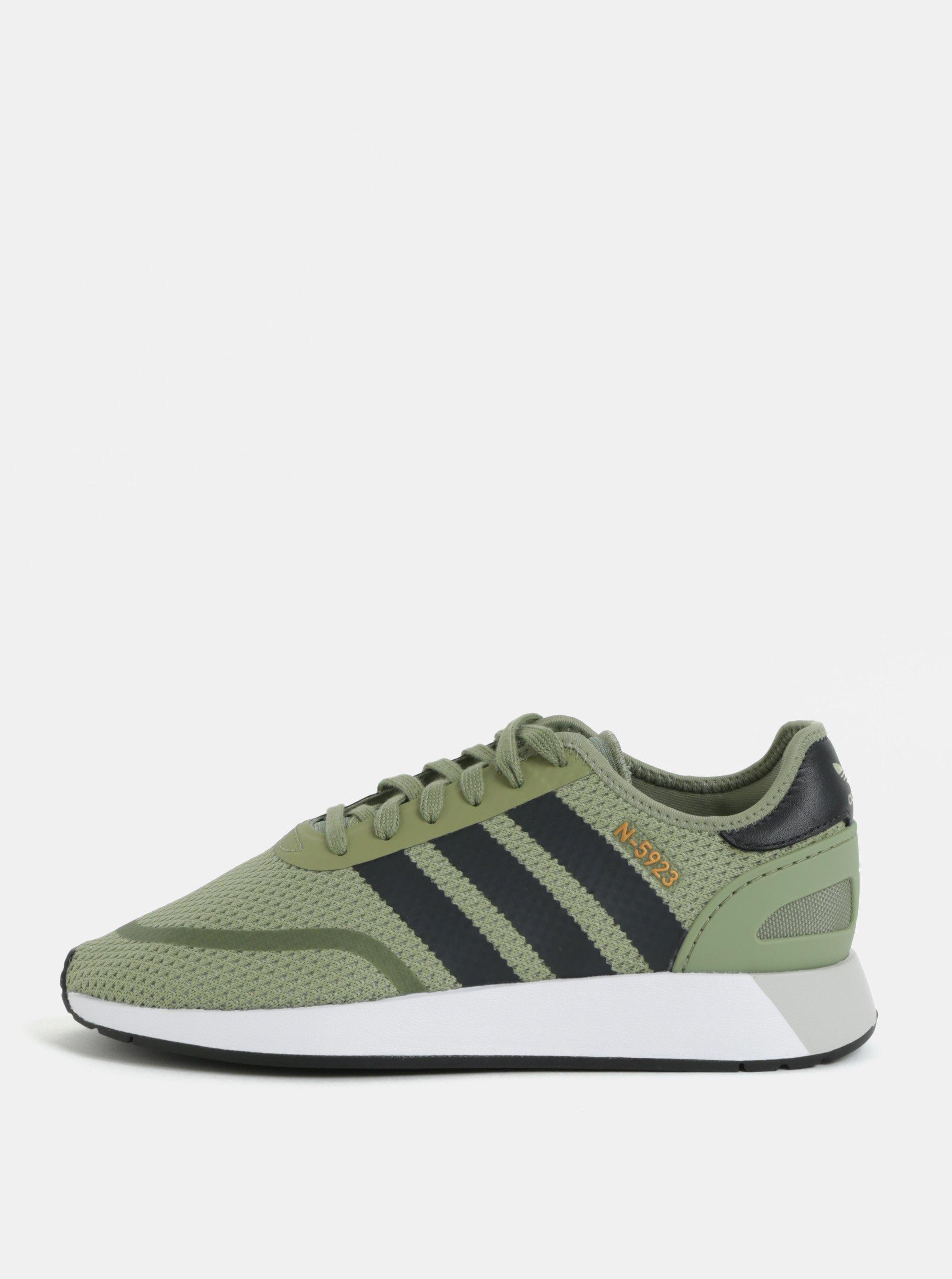 ac5aa754df Zelené tenisky adidas Originals Runner