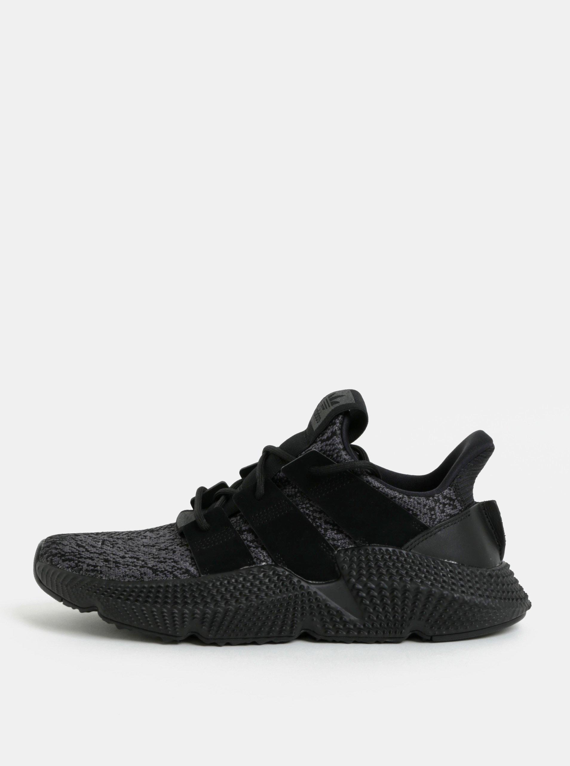 Sivo-čierne pánske tenisky adidas Originals PROPHERE