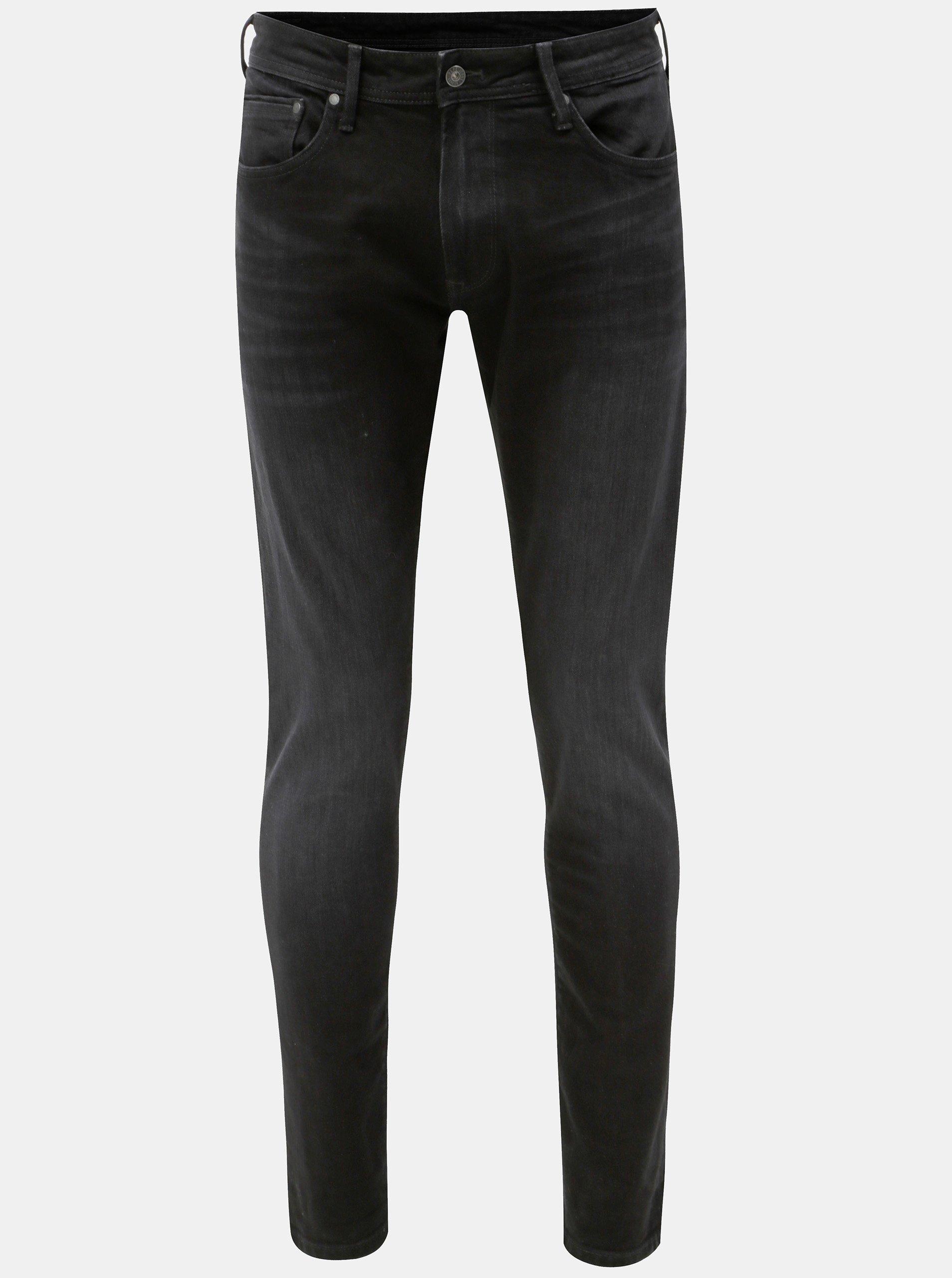 d7697c11a00 Černé pánské regular džíny Pepe Jeans