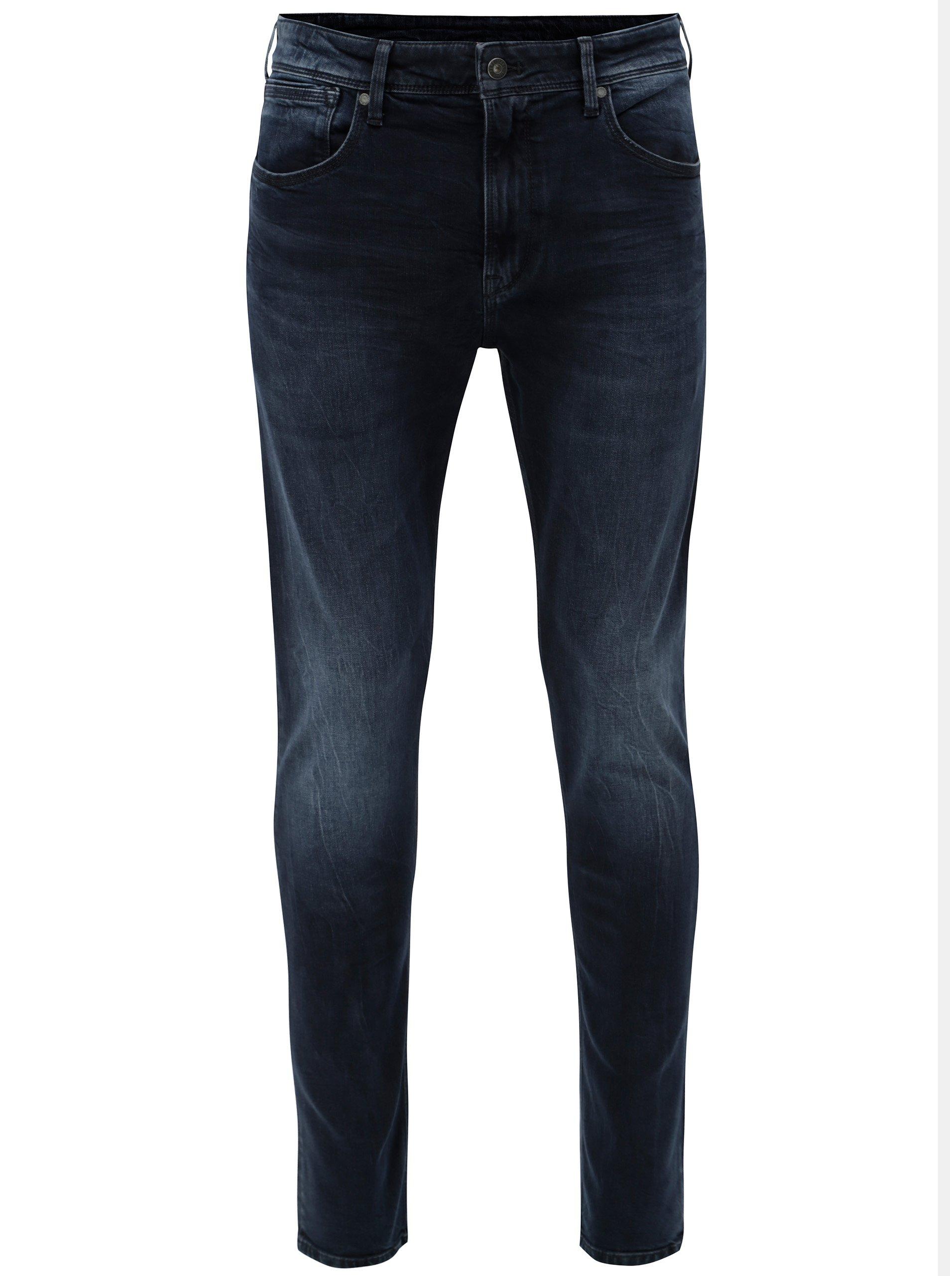 Tmavě modré pánské skinny džíny Pepe Jeans 7c85707665