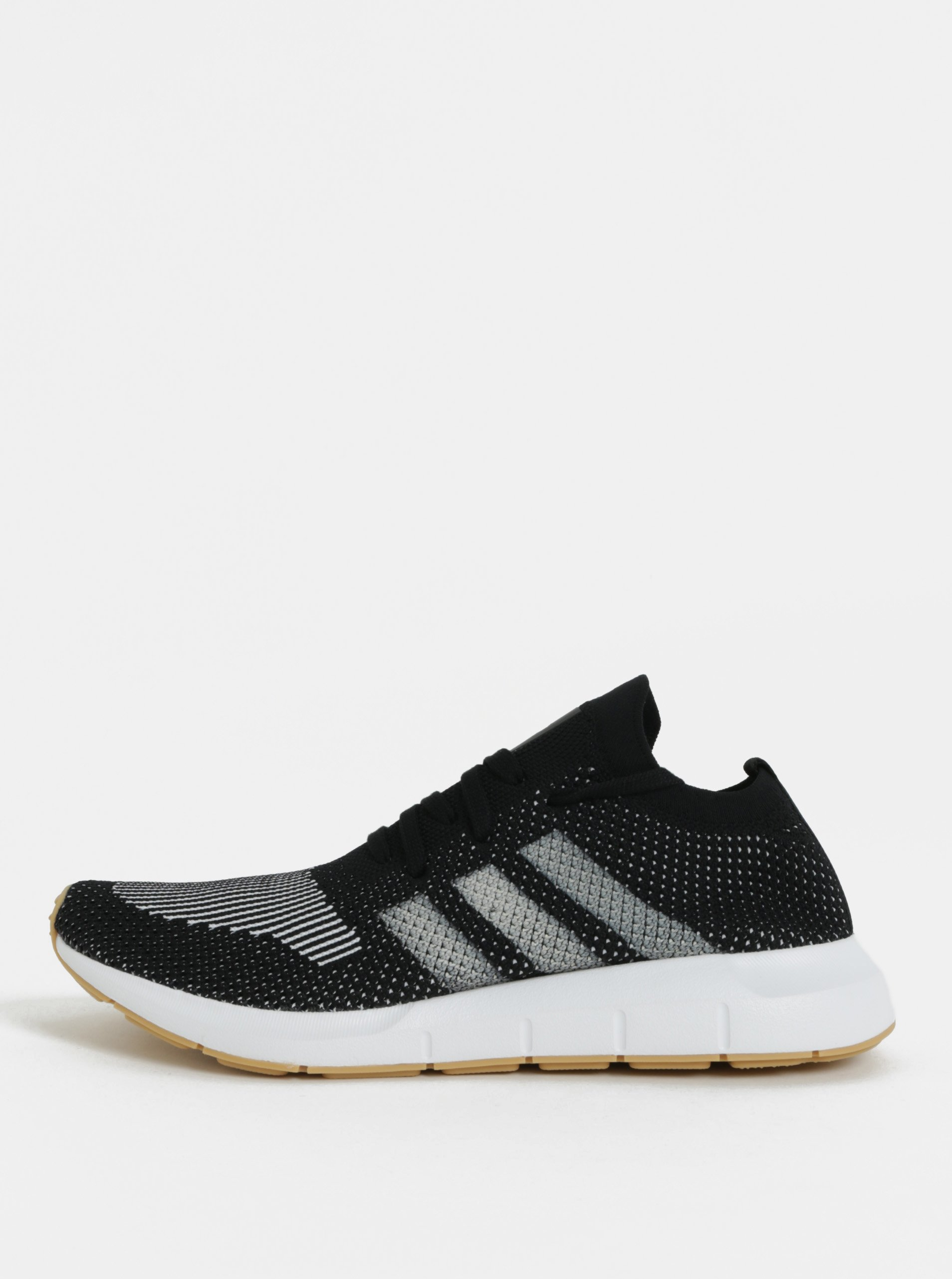 Bielo-čierne pánske tenisky adidas Originals Swift Run PK