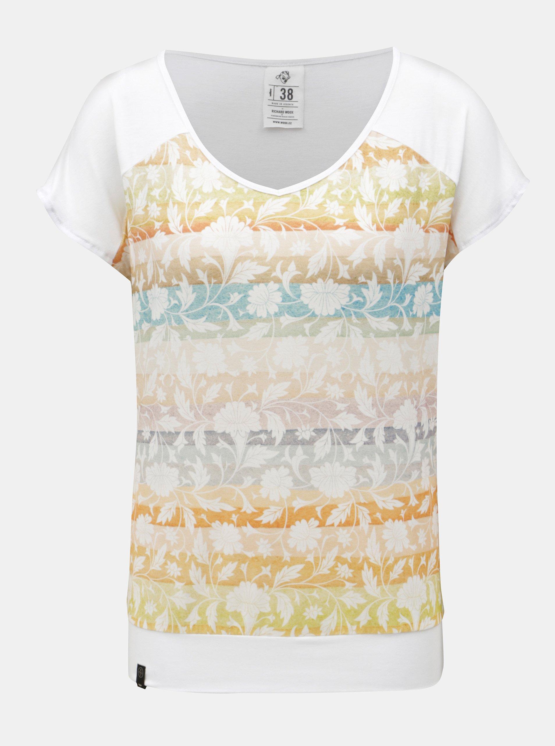 Bílé dámské tričko WOOX