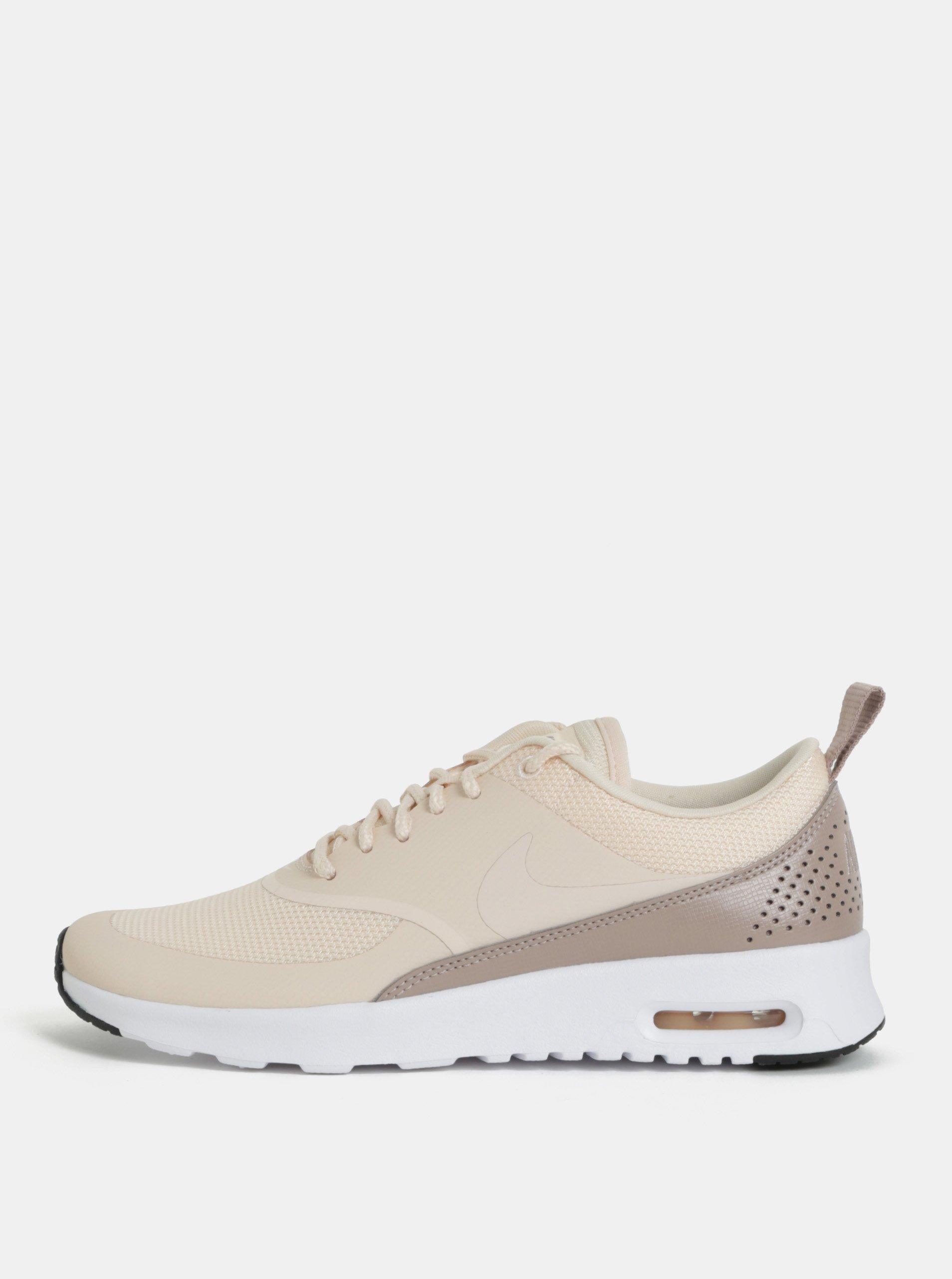 Marhuľové dámske tenisky Nike Air Max Thea