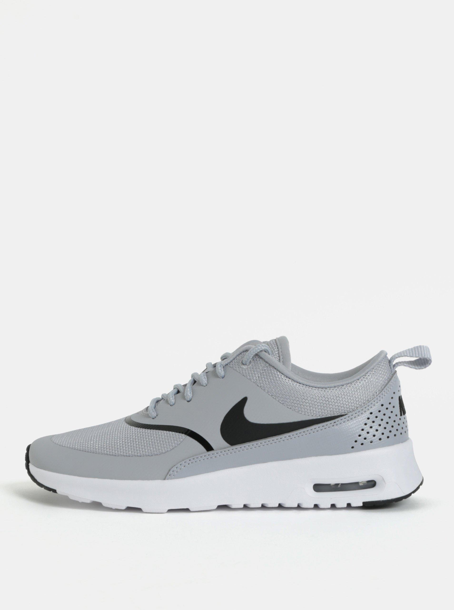 Sivé dámske tenisky Nike Air Max Thea