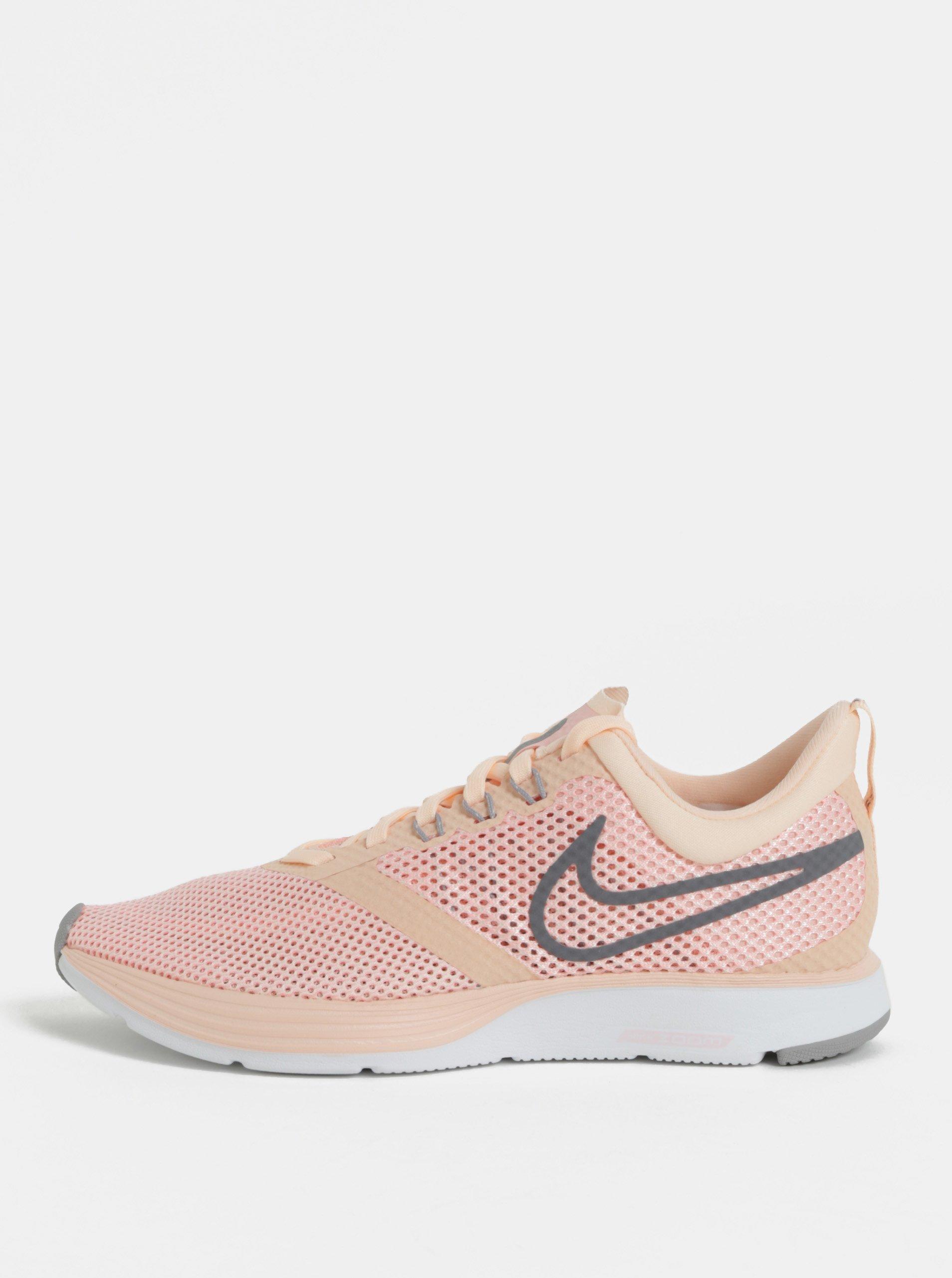 4482bfe1a4796 Ružové dámske tenisky Nike Zoom Strike