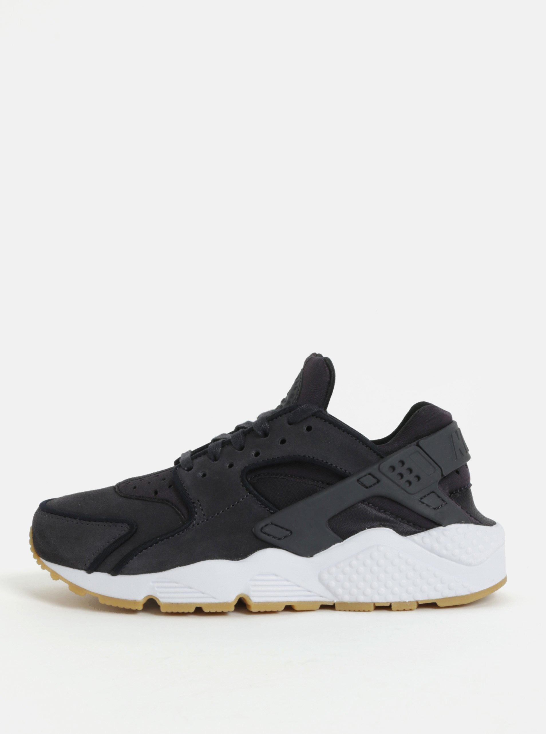 Čierne dámske tenisky Nike Air Huarache Run PRM eccf3ef13c9