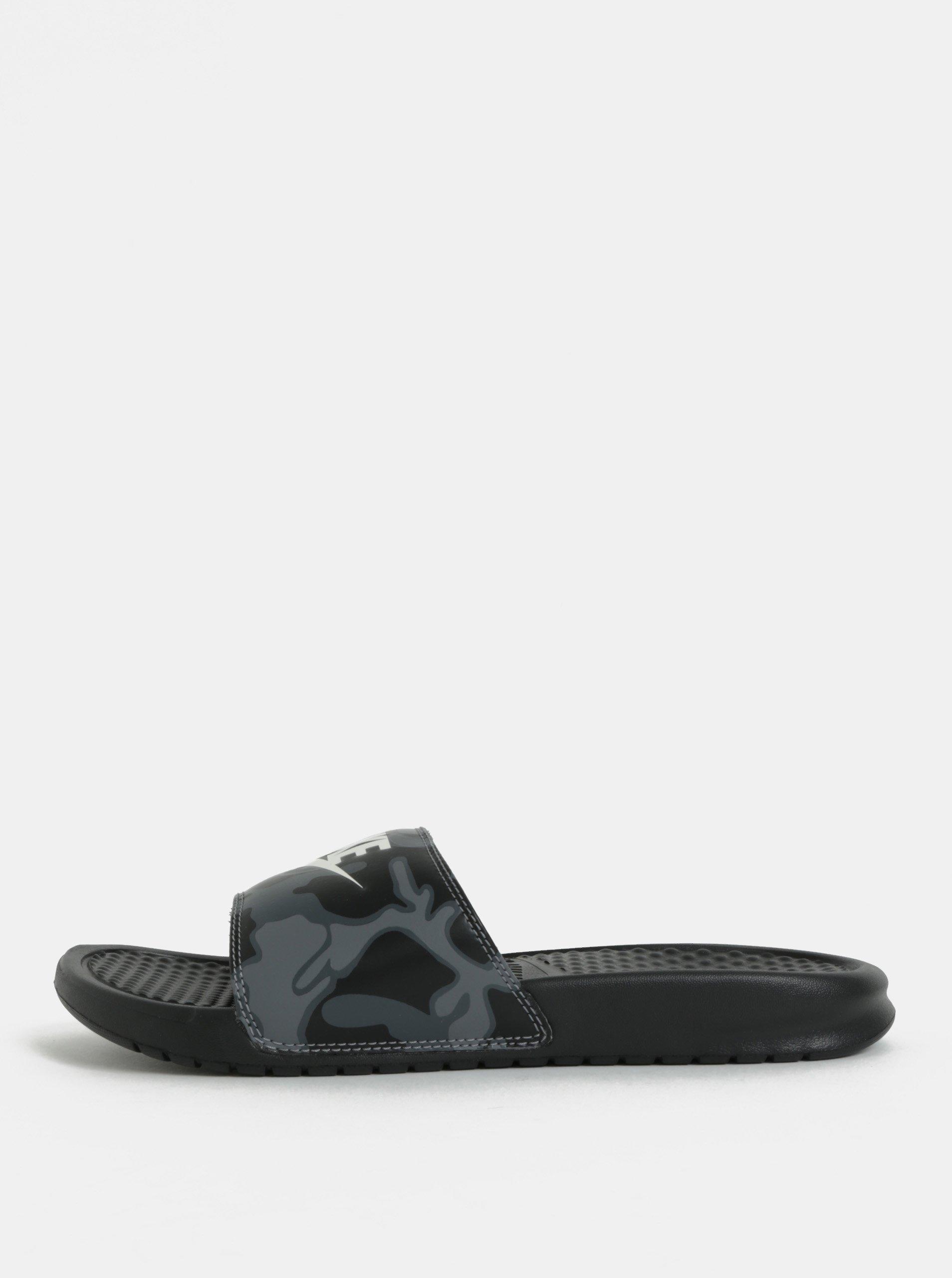 Černé pánské pantofle Nike Benassi JDI Print 5be3730bf0