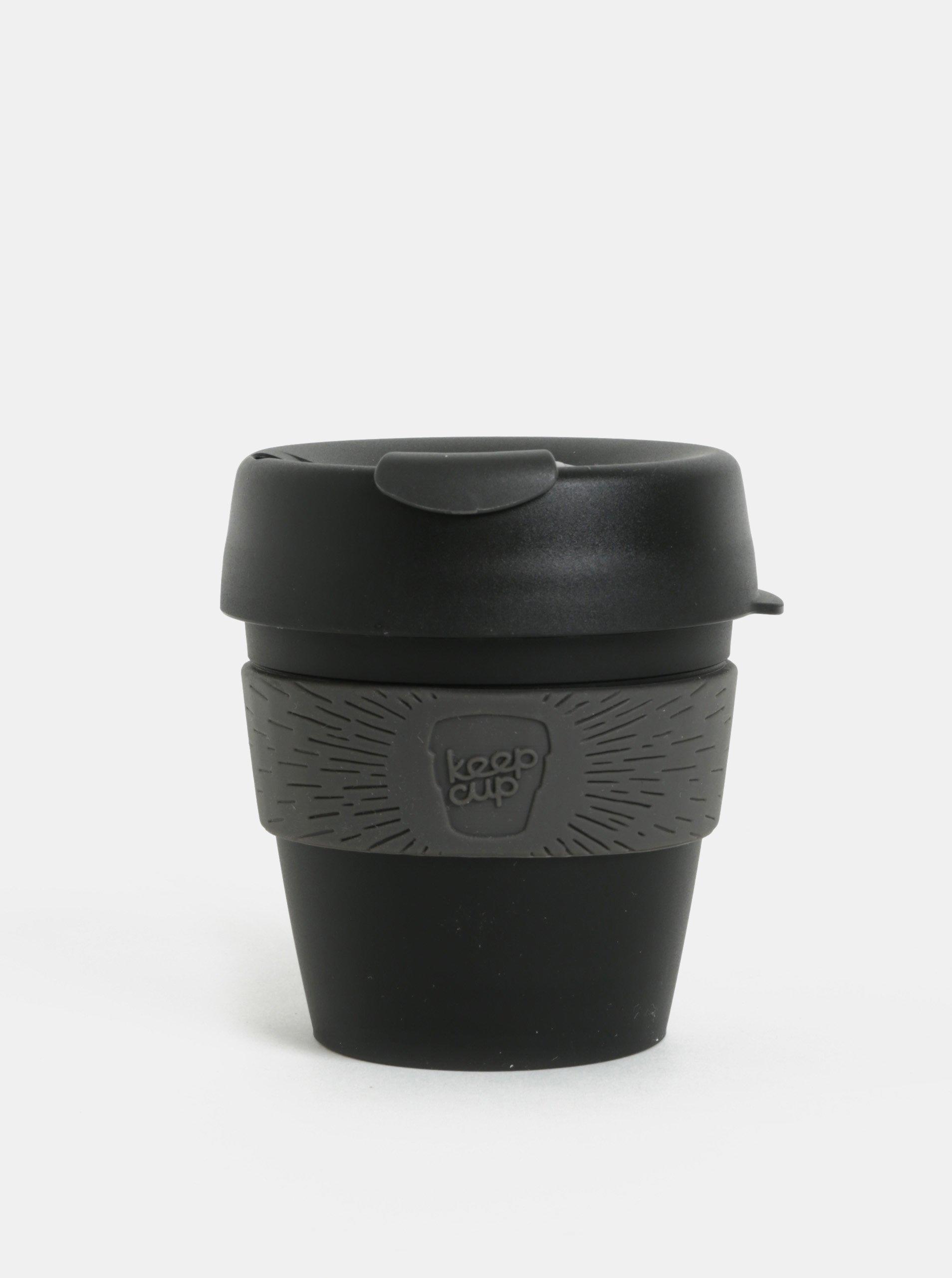 Sivo-čierny cestovný hrnček KeepCup Original Small